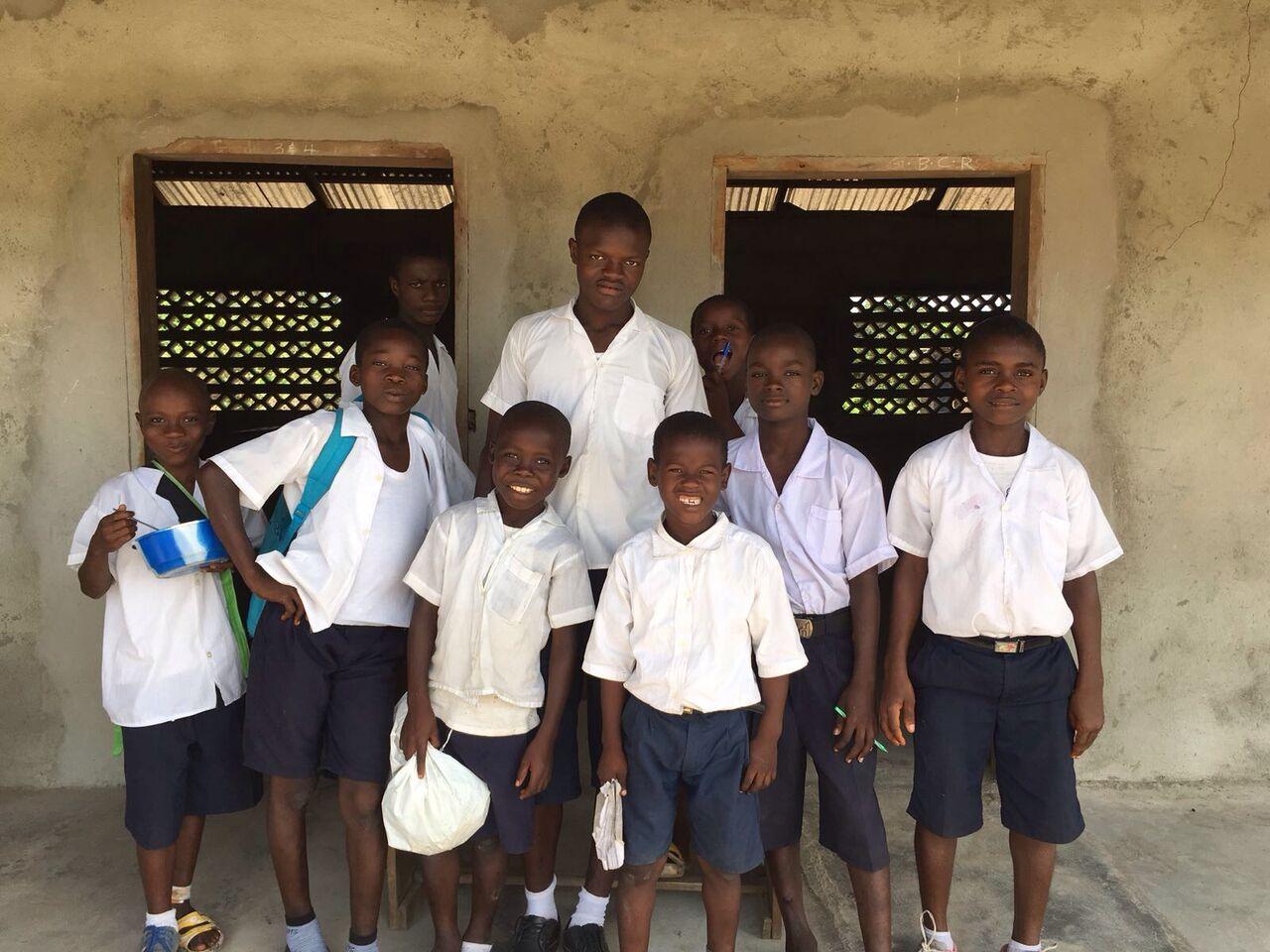 Liberia - école