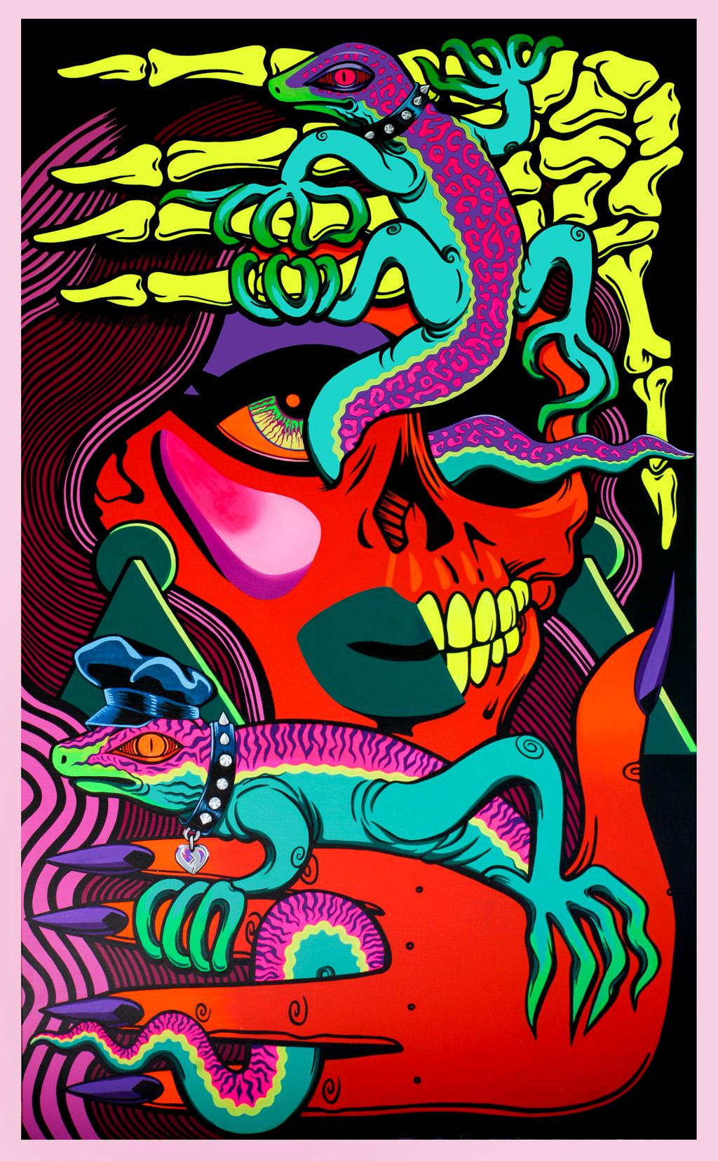 VOGUE - $3000 -   Acrylic on Canvas, 91cm x 152cm