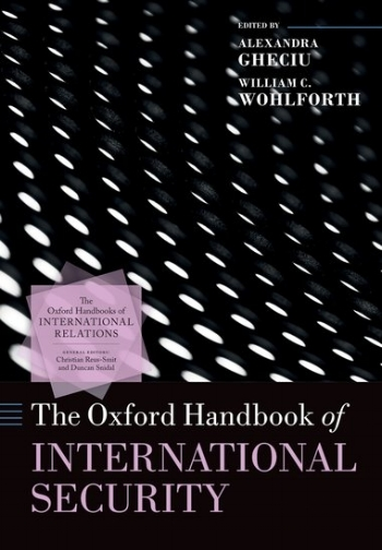 """Chapter     """"Energy Security""""    of the Book  The Oxford Handbook of International Security    March 2018"""