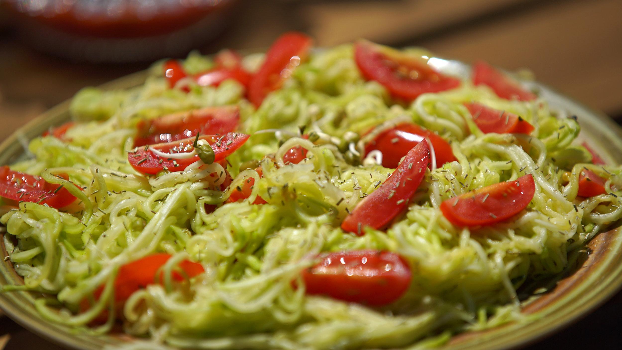 Vegan food Spain