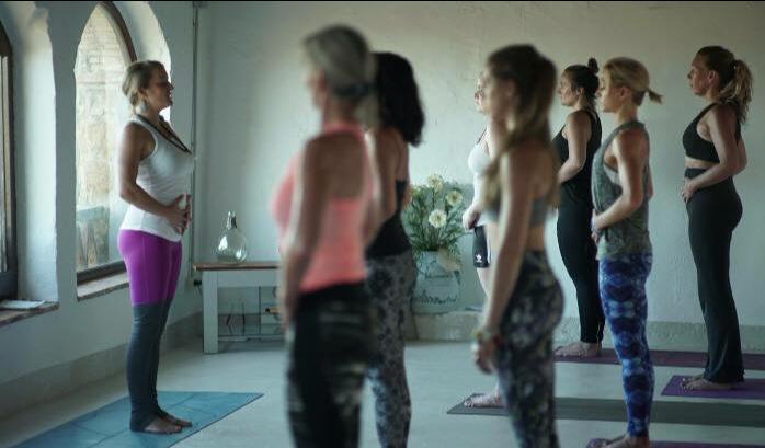 Pilates retreat Spain