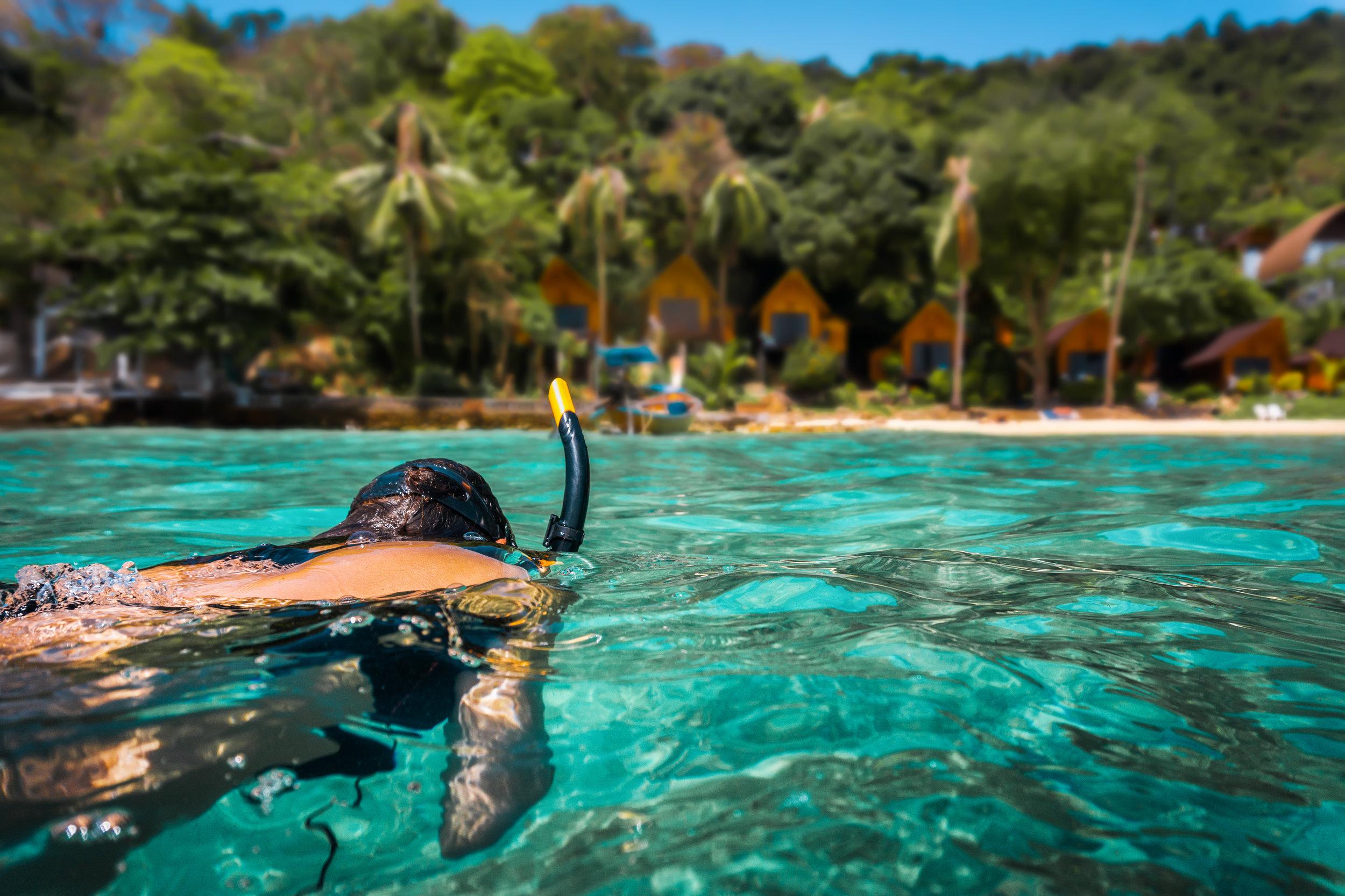 Snorkelling Koh Panang