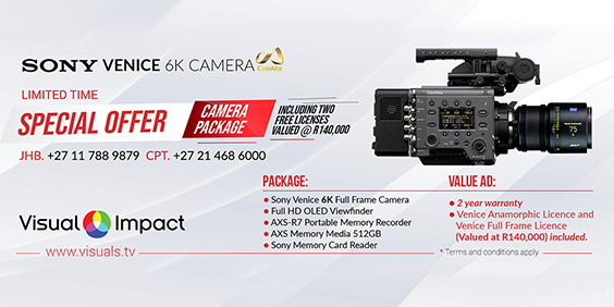 Visual Impact Sony Venice camera package is on SPECIAL OFFER -