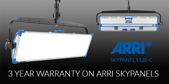 Visual Impact now offers a 3-year ARRI Skypanel warranty -
