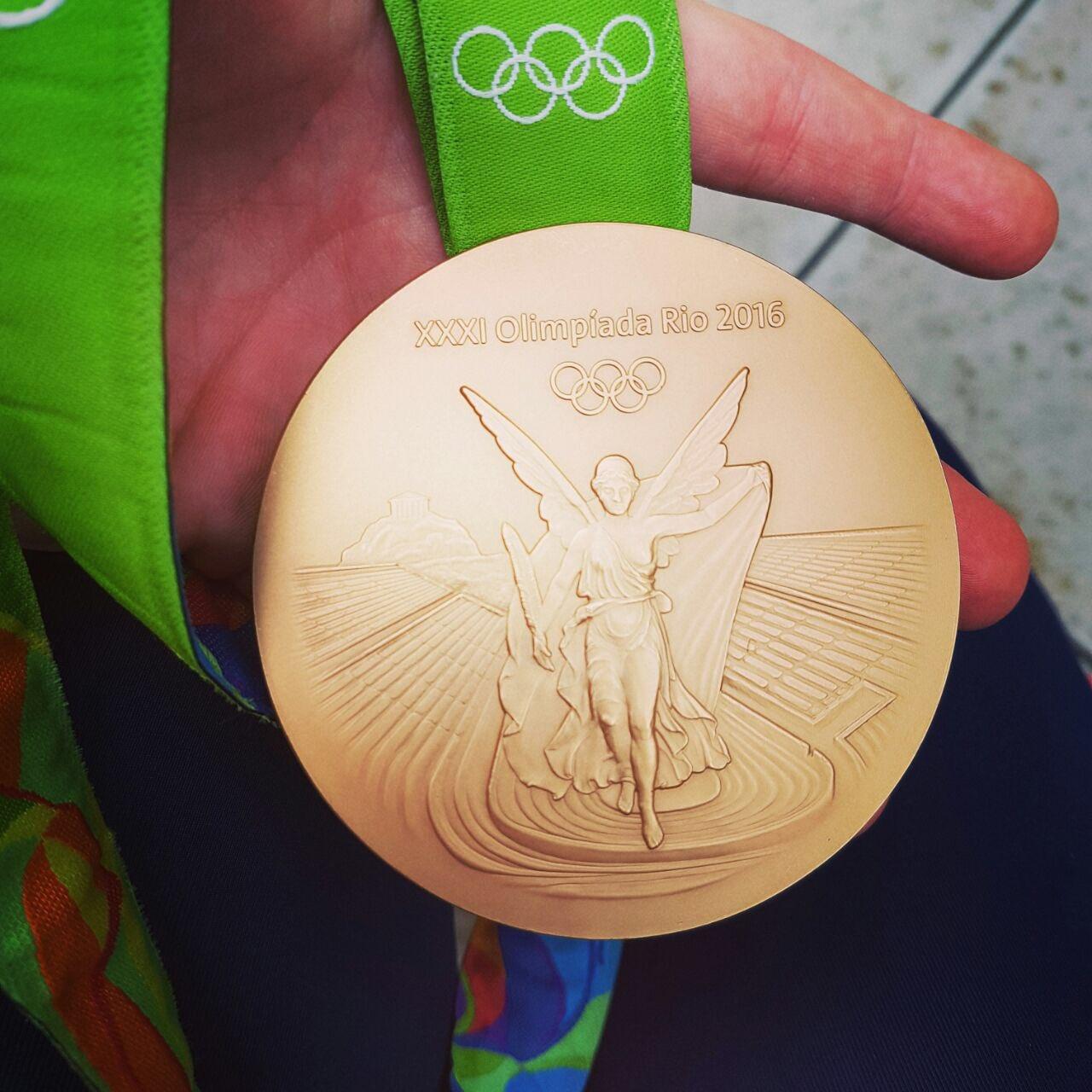 Crista Cullen's Gold Medal