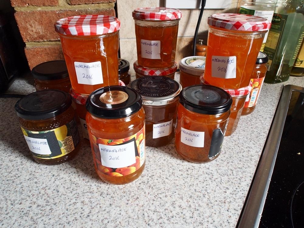 Homemade Seville Marmalade