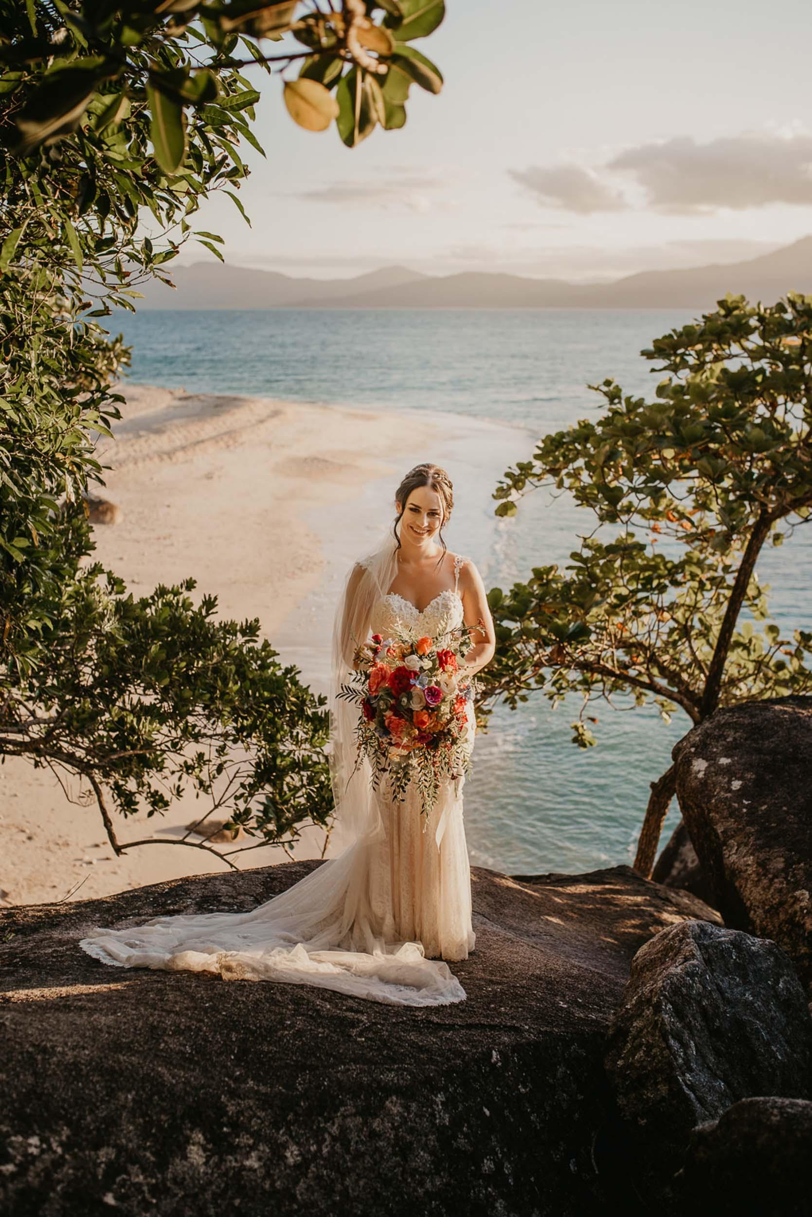 The Raw Photographer - Cairns Wedding Photographer - Fitzroy Island - Destination Wedding - Bride Dress - Groom Portrait - Queensland-34.jpg