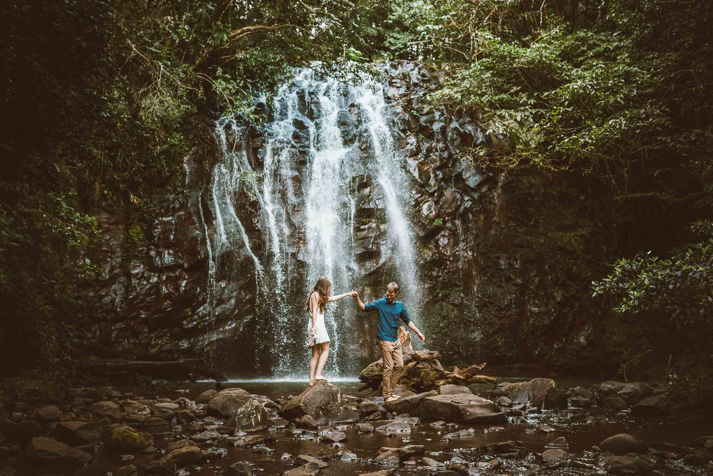 The Raw Photographer - Wedding Photographer - Tablelands Mareeba Atherton Engagement- Couple Session Photos in Cairns - Engaged Price - Rainforest Waterfall Queensland - photoshoot-16.jpg