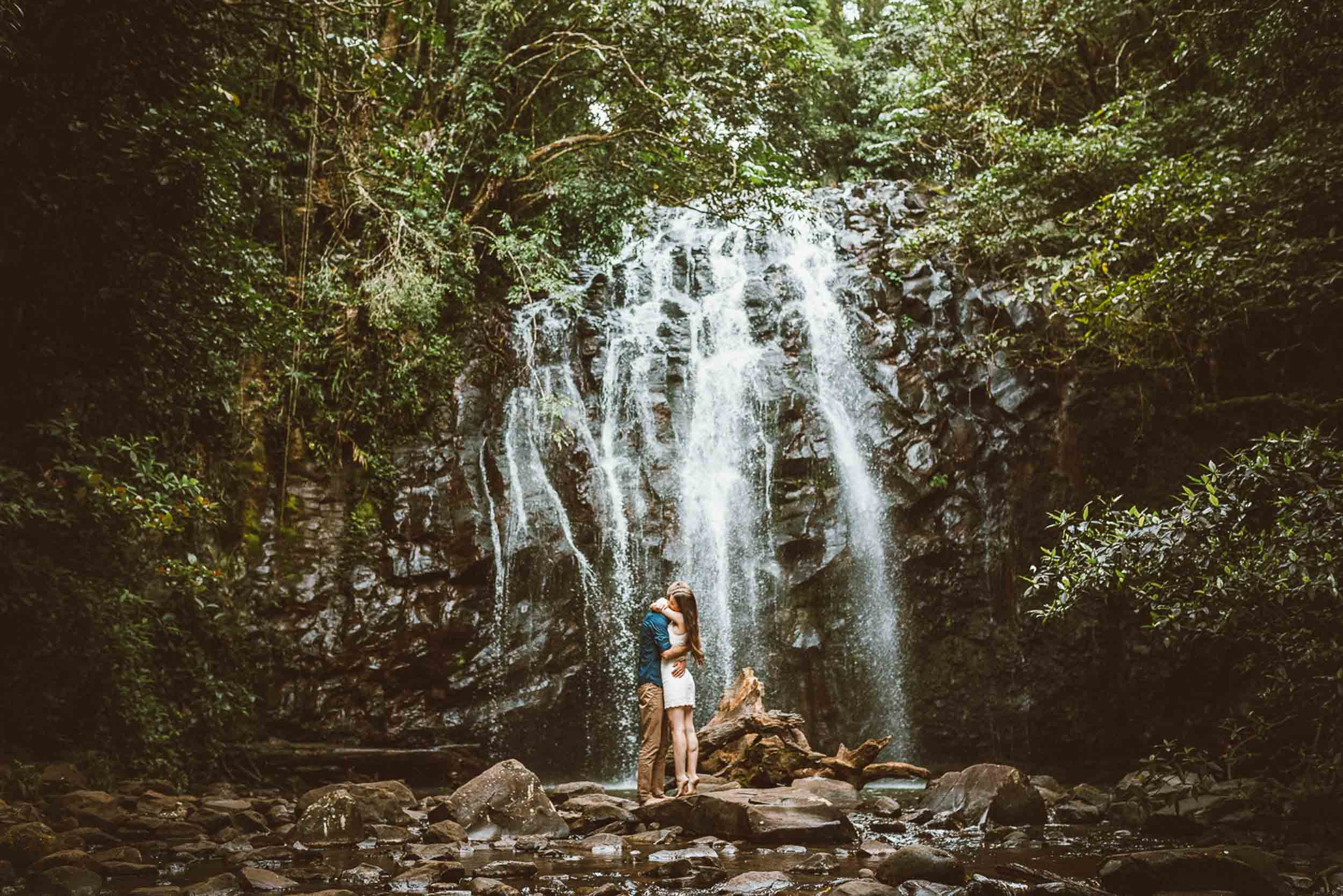 The Raw Photographer - Wedding Photographer - Tablelands Mareeba Atherton Engagement- Couple Session Photos in Cairns - Engaged Price - Rainforest Waterfall Queensland - photoshoot-17.jpg
