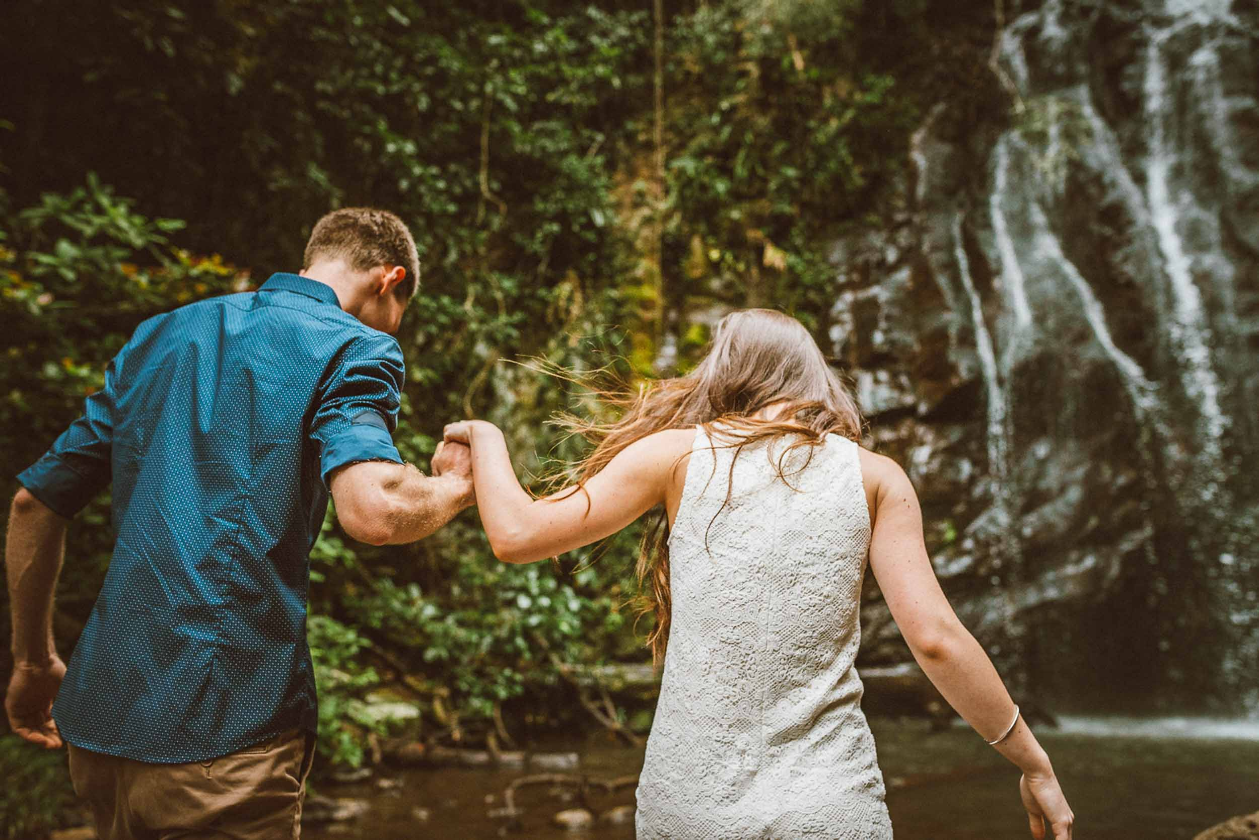 The Raw Photographer - Wedding Photographer - Tablelands Mareeba Atherton Engagement- Couple Session Photos in Cairns - Engaged Price - Rainforest Waterfall Queensland - photoshoot-19.jpg