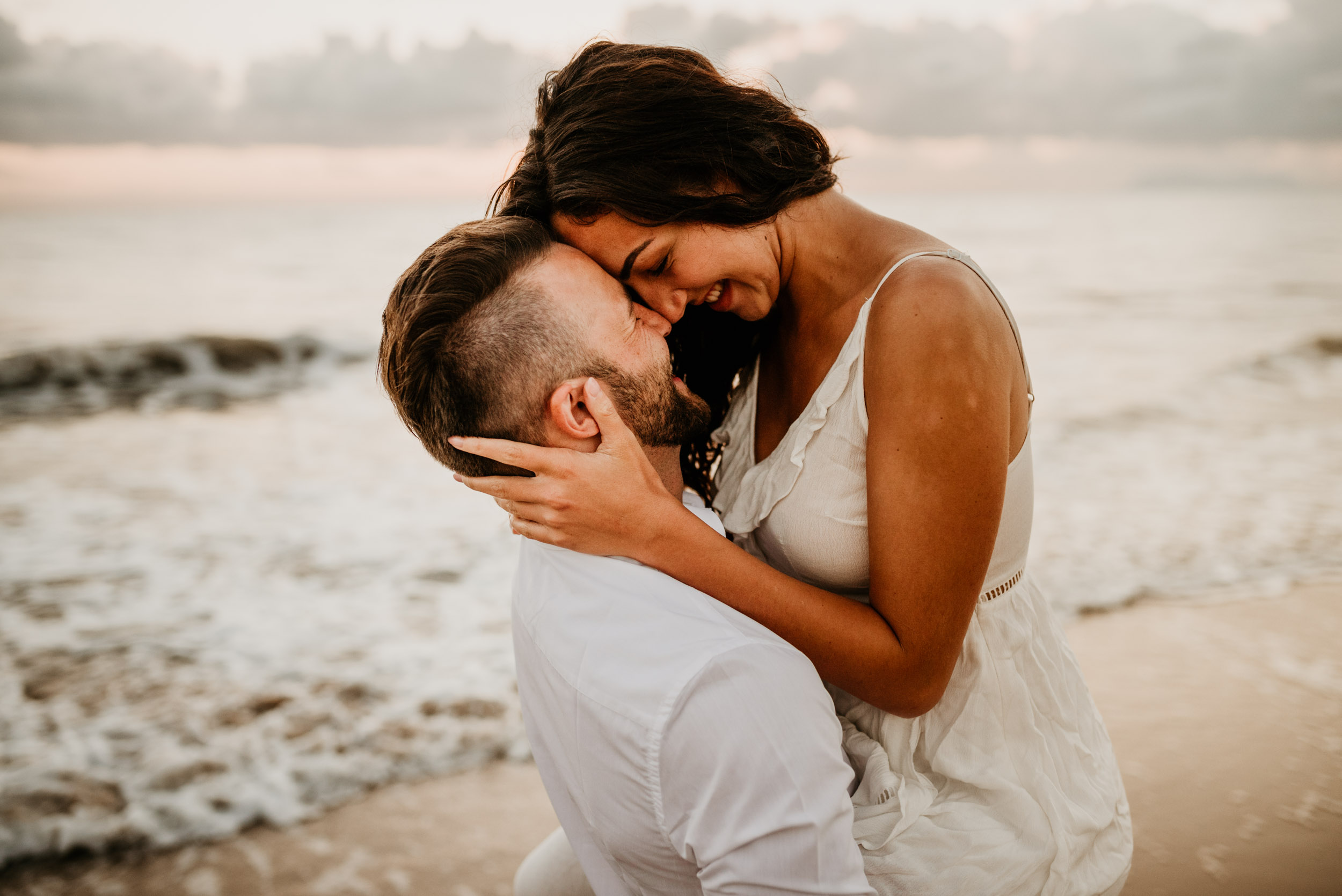 The Raw Photographer - Cairns Wedding Photographer - Engaged Engagement - Beach location - Candid Photography Queensland-5.jpg