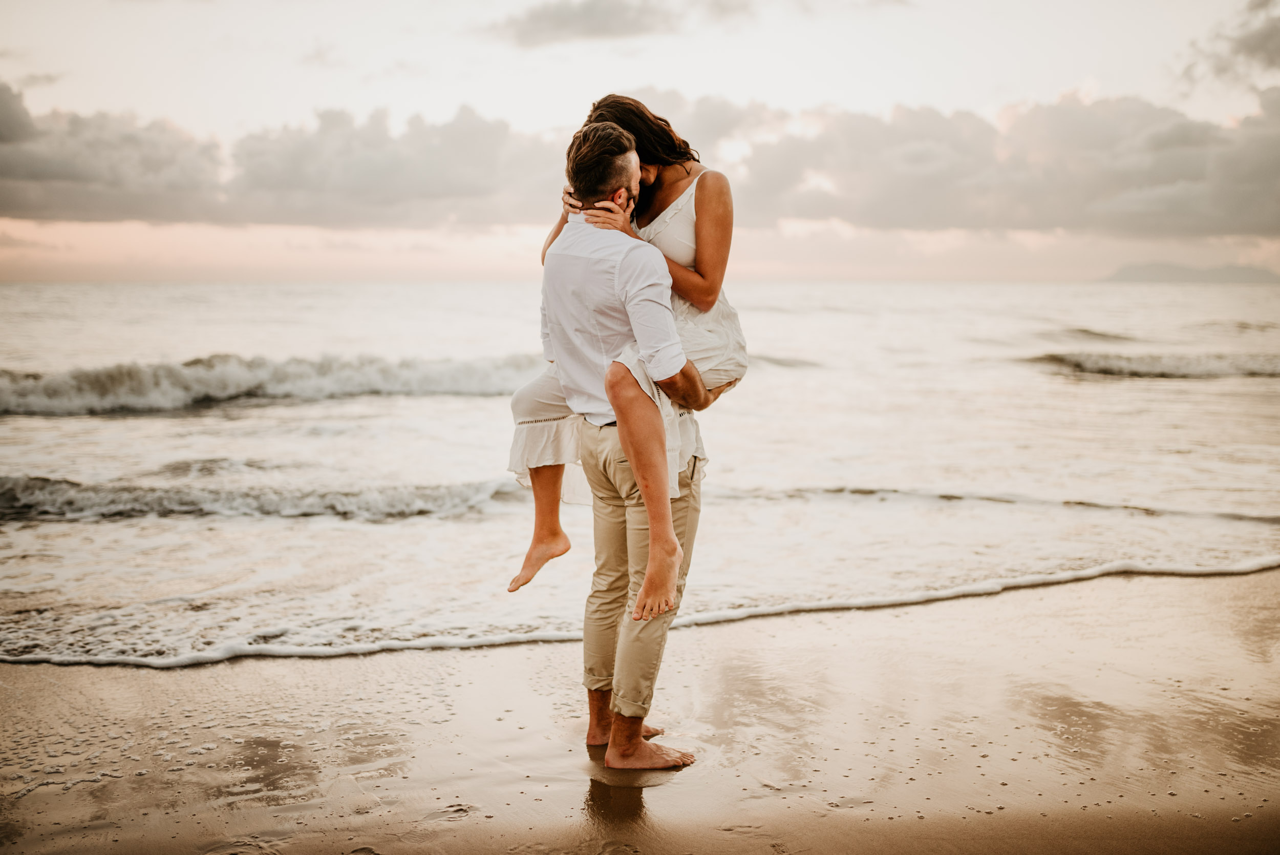 The Raw Photographer - Cairns Wedding Photographer - Engaged Engagement - Beach location - Candid Photography Queensland-6.jpg
