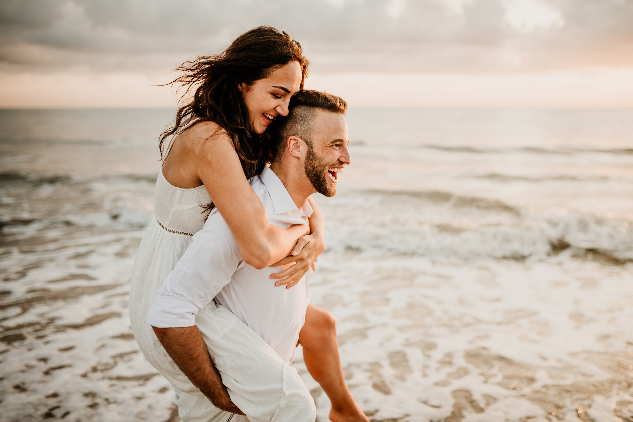 The Raw Photographer - Cairns Wedding Photographer - Engaged Engagement - Beach location - Candid Photography Queensland-18.jpg