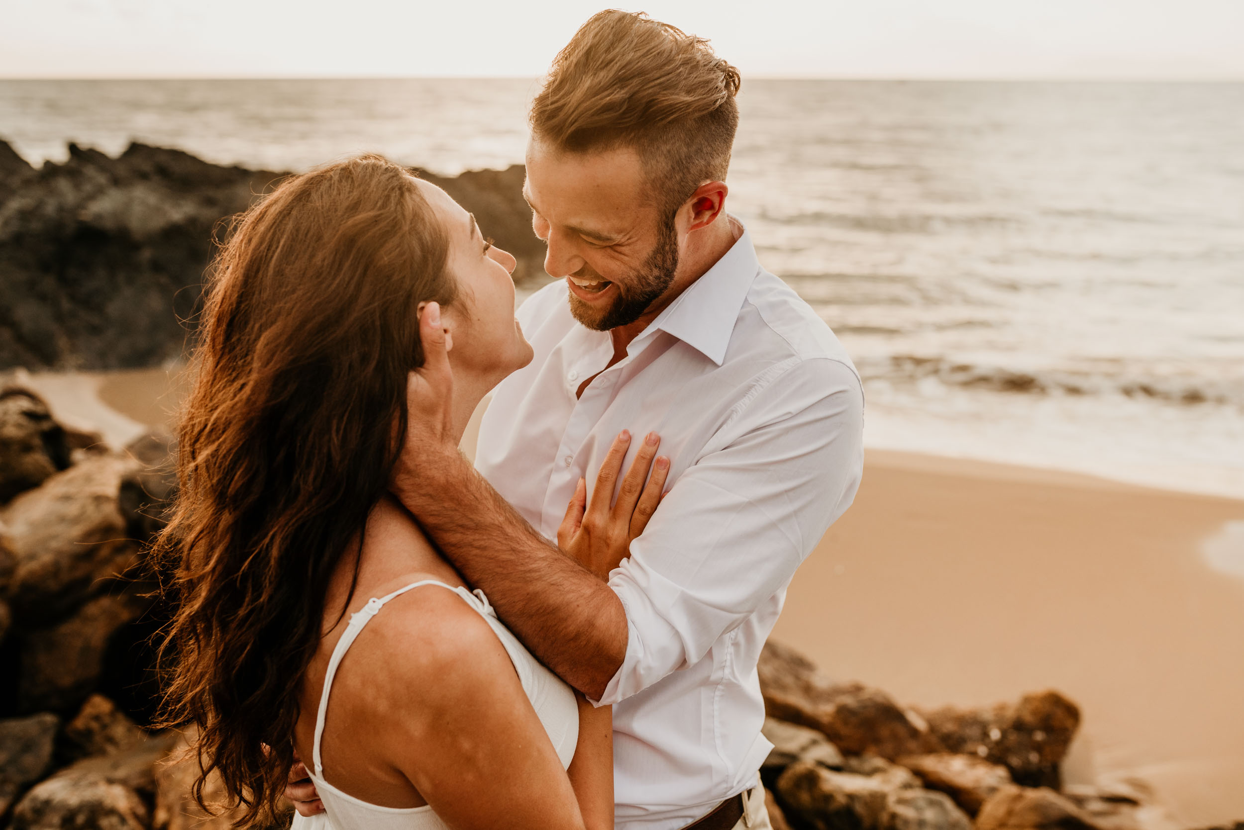 The Raw Photographer - Cairns Wedding Photographer - Engaged Engagement - Beach location - Candid Photography Queensland-35.jpg