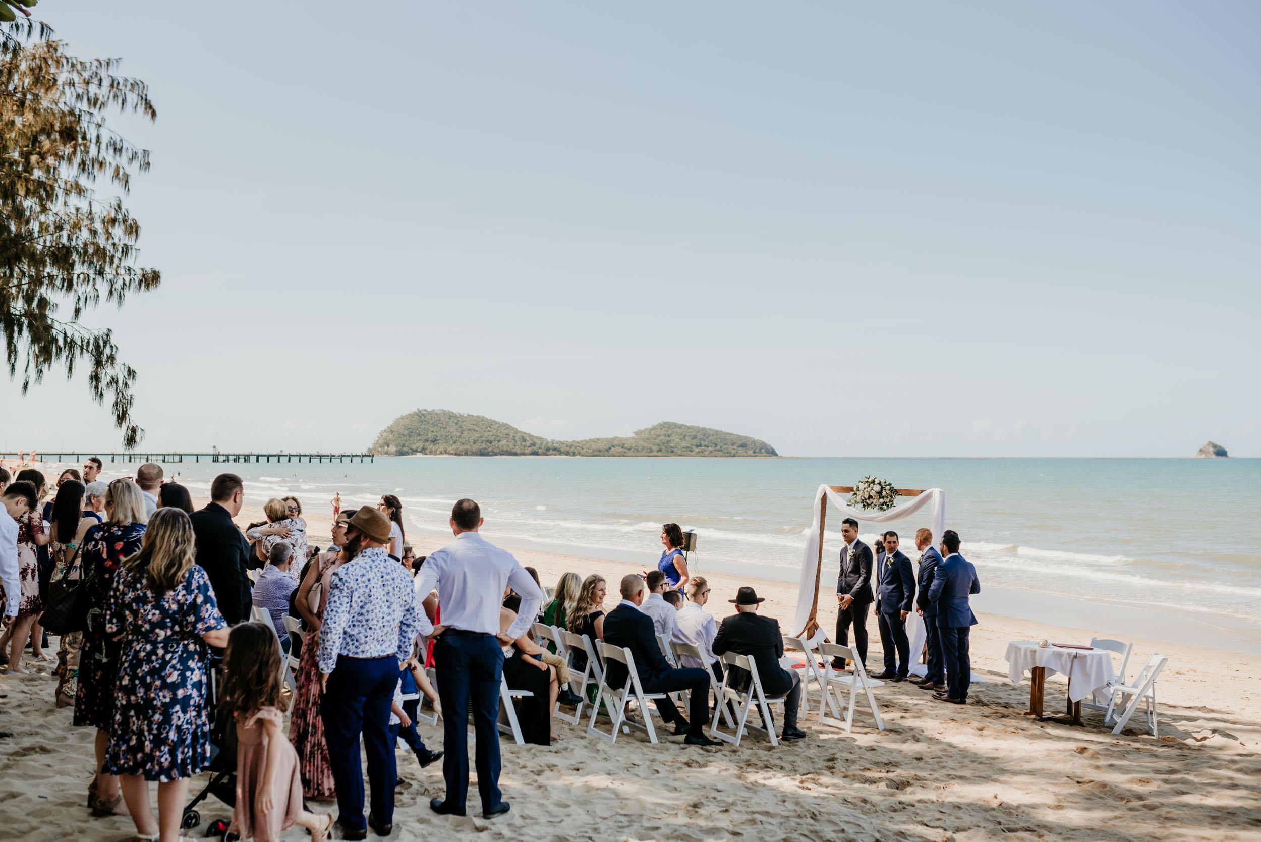 The Raw Photographer - Cairns Wedding Photographer - Beach Palm Cove Ceremony - Dress Irene Costa's Devine Bridal - Queensland-28.jpg