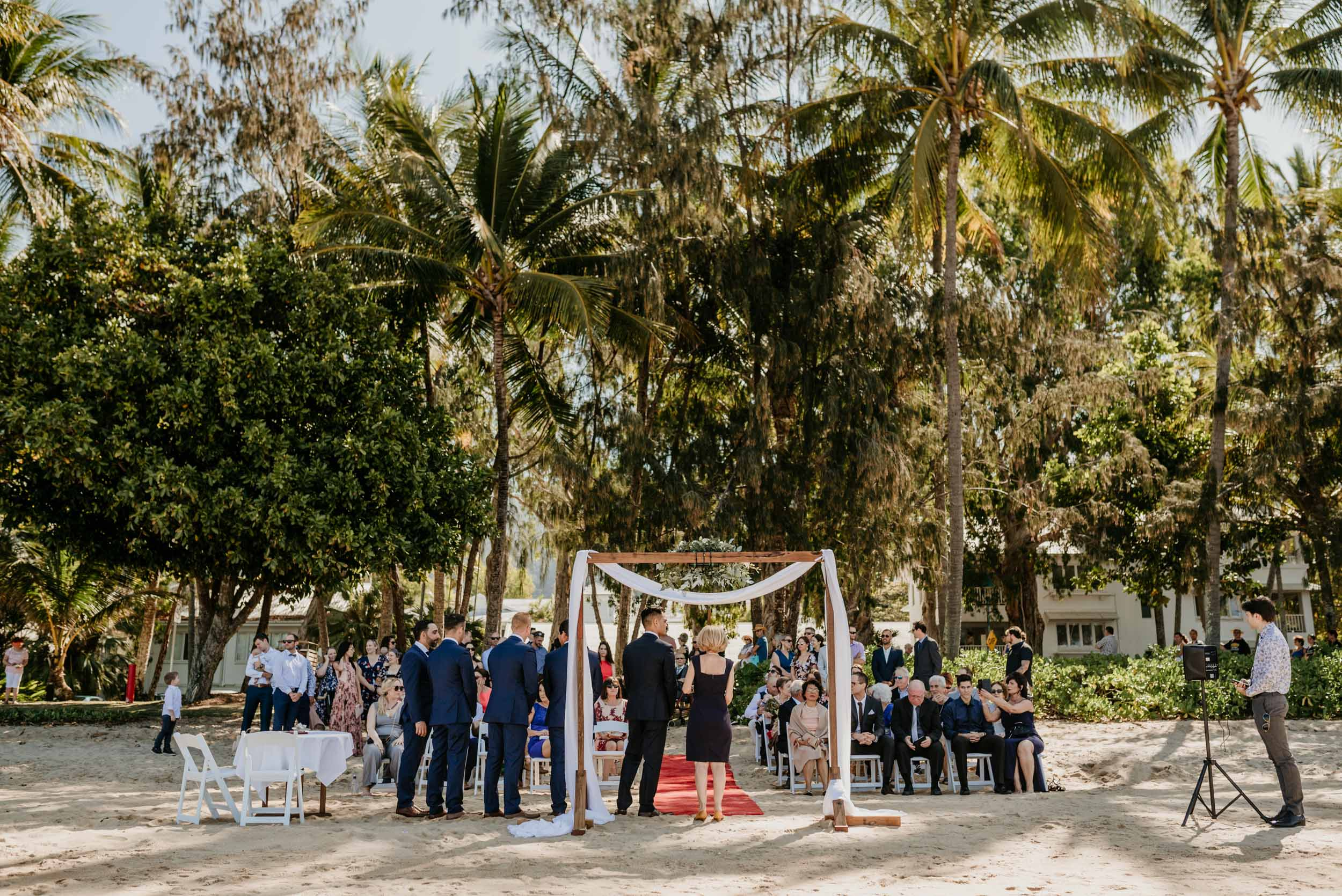 The Raw Photographer - Cairns Wedding Photographer - Beach Palm Cove Ceremony - Dress Irene Costa's Devine Bridal - Queensland-29.jpg