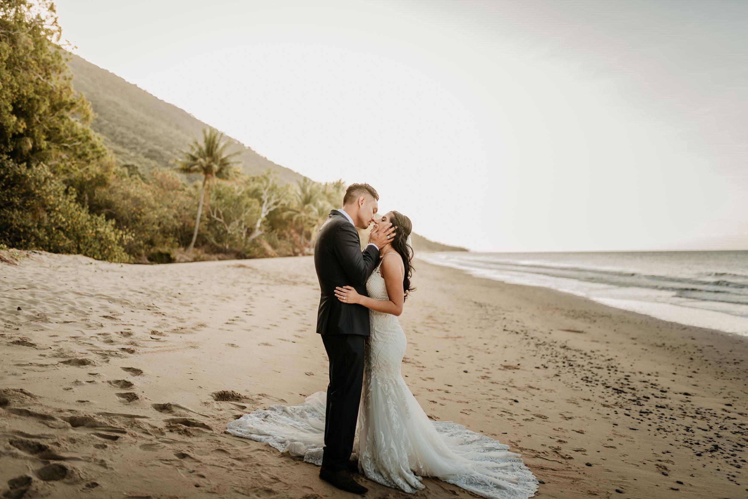 The Raw Photographer - Cairns Wedding Photographer - Beach Palm Cove Ceremony - Dress Irene Costa's Devine Bridal - Queensland-60.jpg