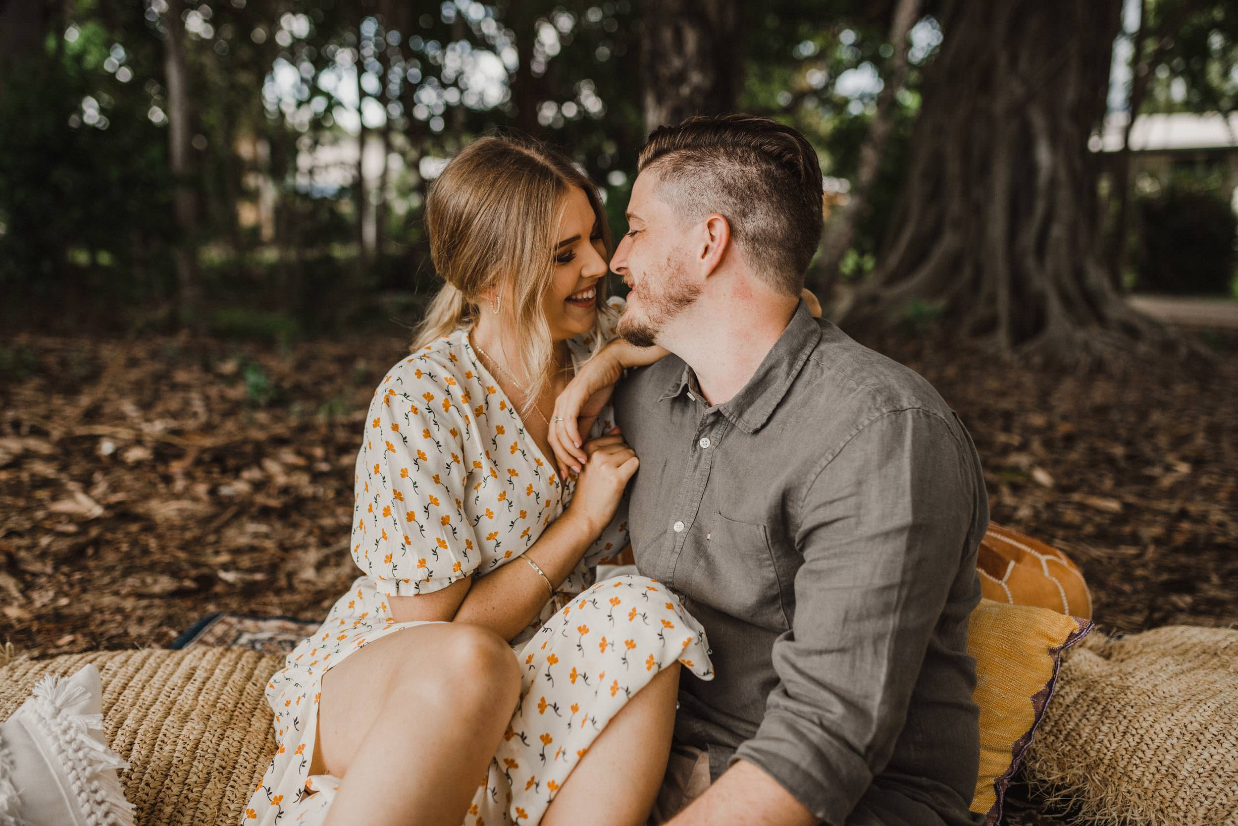 The Raw Photographer - Cairns Wedding Photographer - Beach Engagement Shoot - Candid Picnic-8.jpg