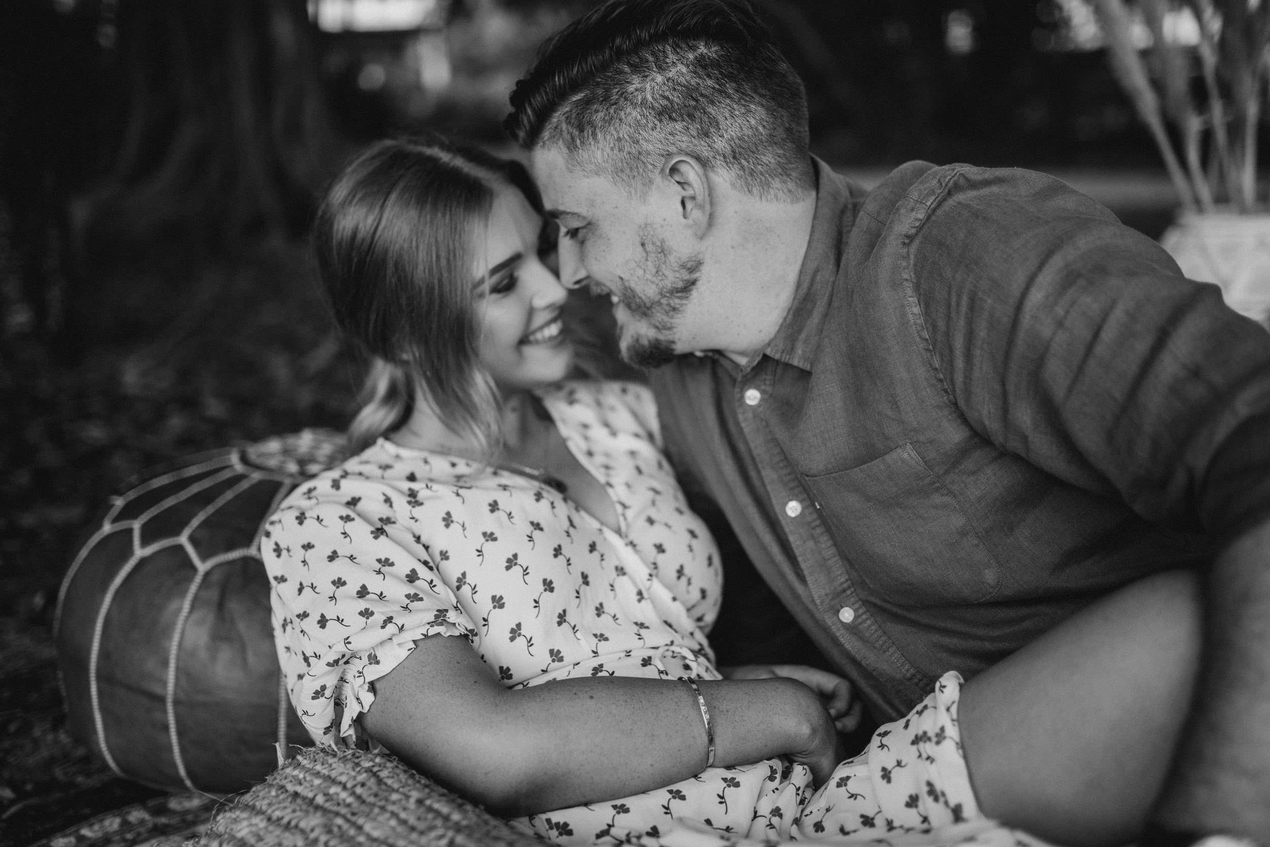 The Raw Photographer - Cairns Wedding Photographer - Beach Engagement Shoot - Candid Picnic-10.jpg