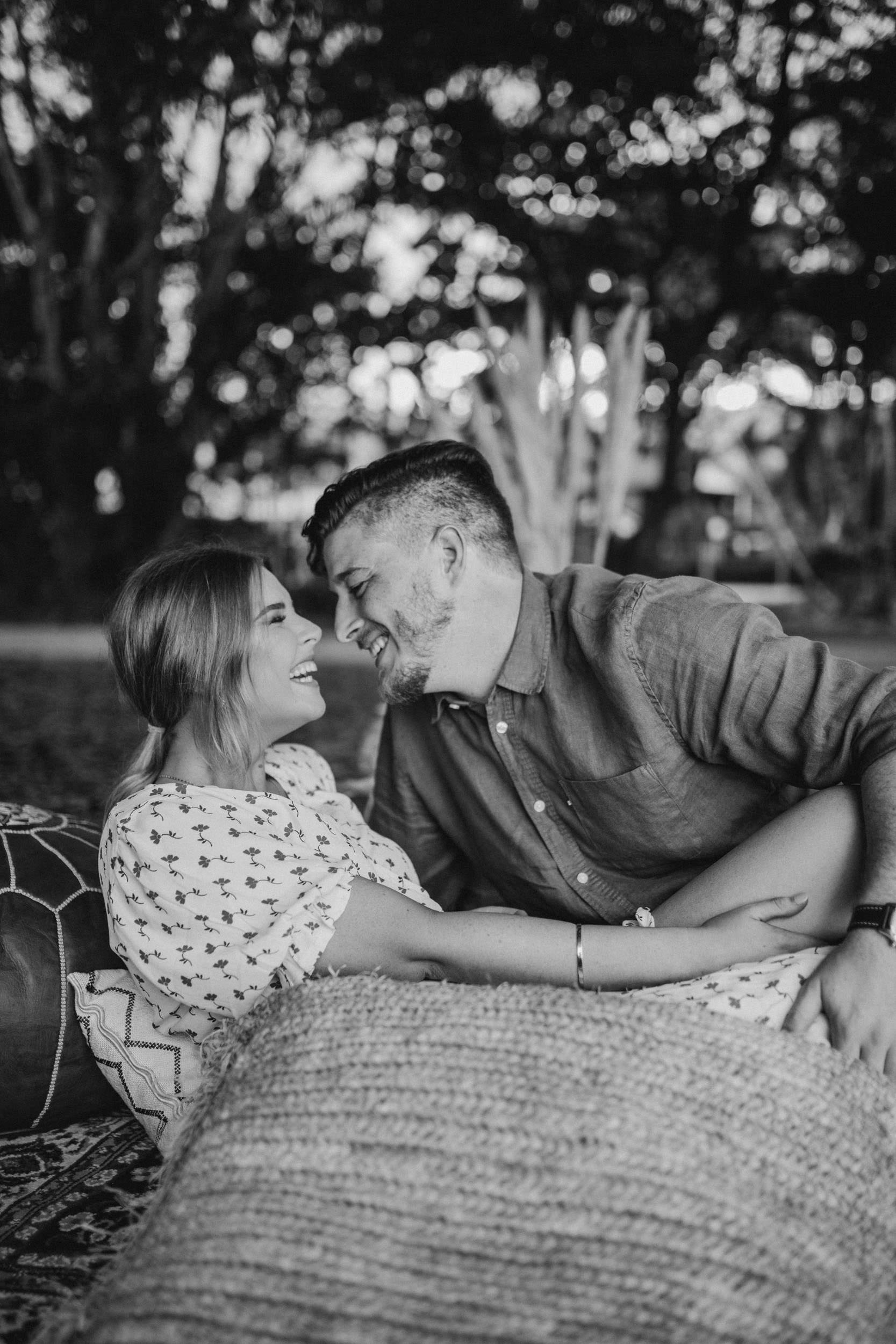 The Raw Photographer - Cairns Wedding Photographer - Beach Engagement Shoot - Candid Picnic-11.jpg