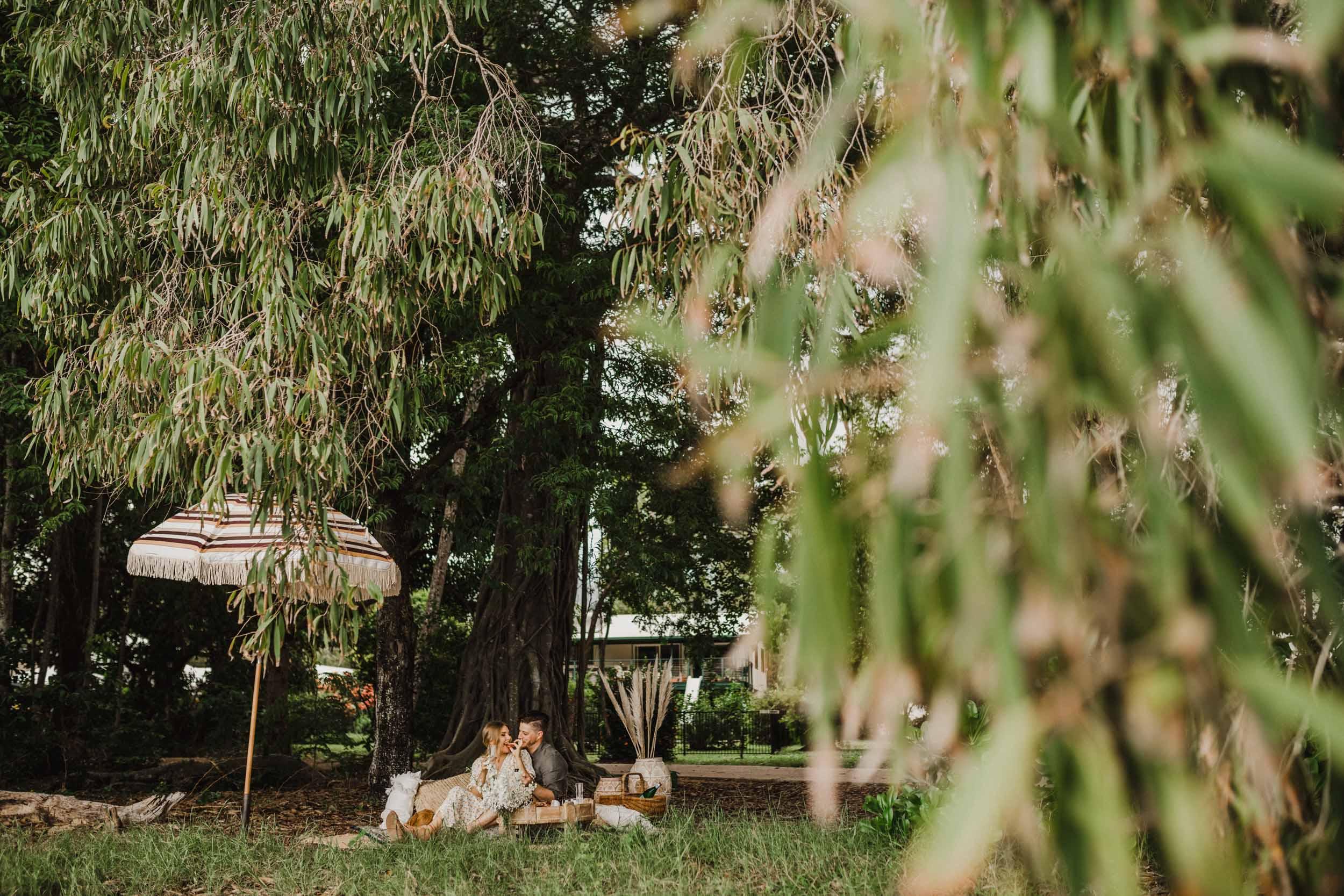 The Raw Photographer - Cairns Wedding Photographer - Beach Engagement Shoot - Candid Picnic-12.jpg