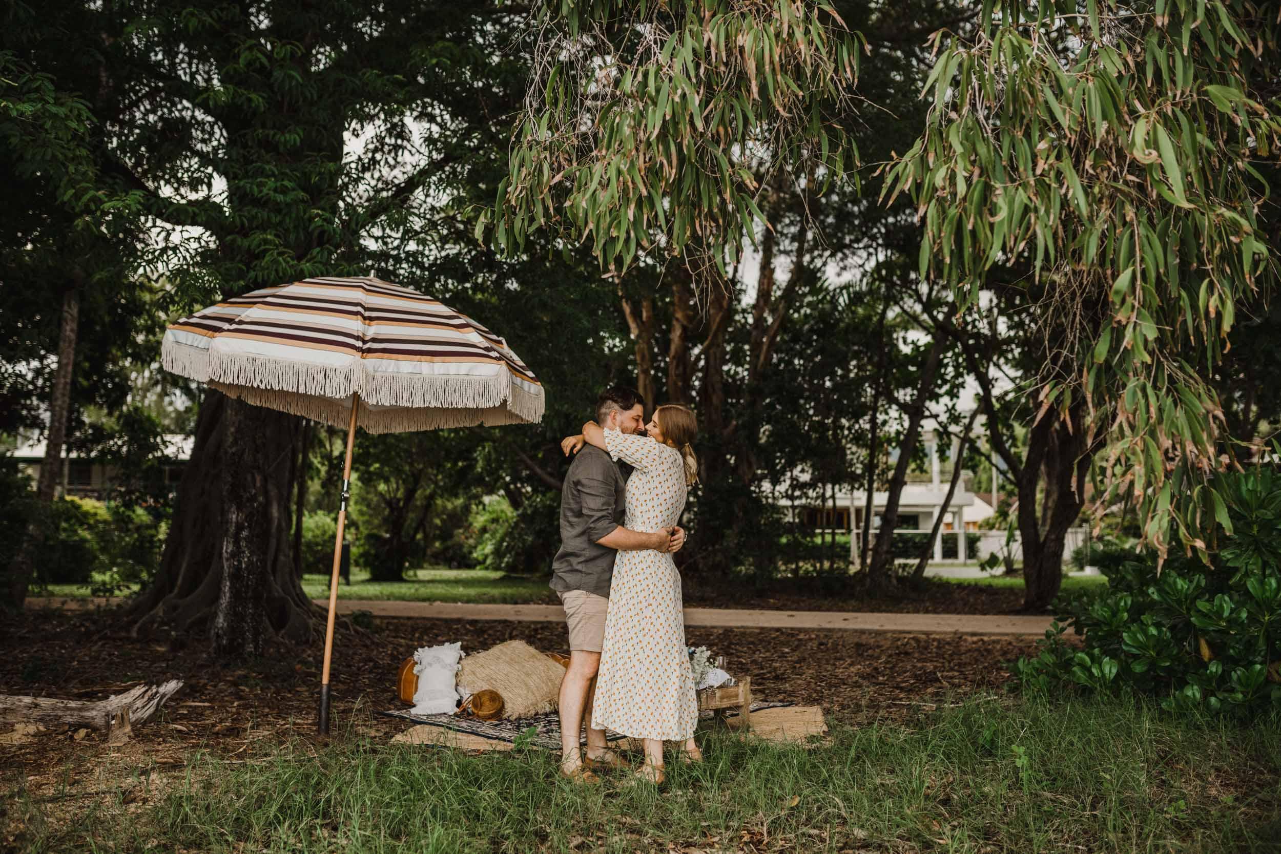 The Raw Photographer - Cairns Wedding Photographer - Beach Engagement Shoot - Candid Picnic-13.jpg