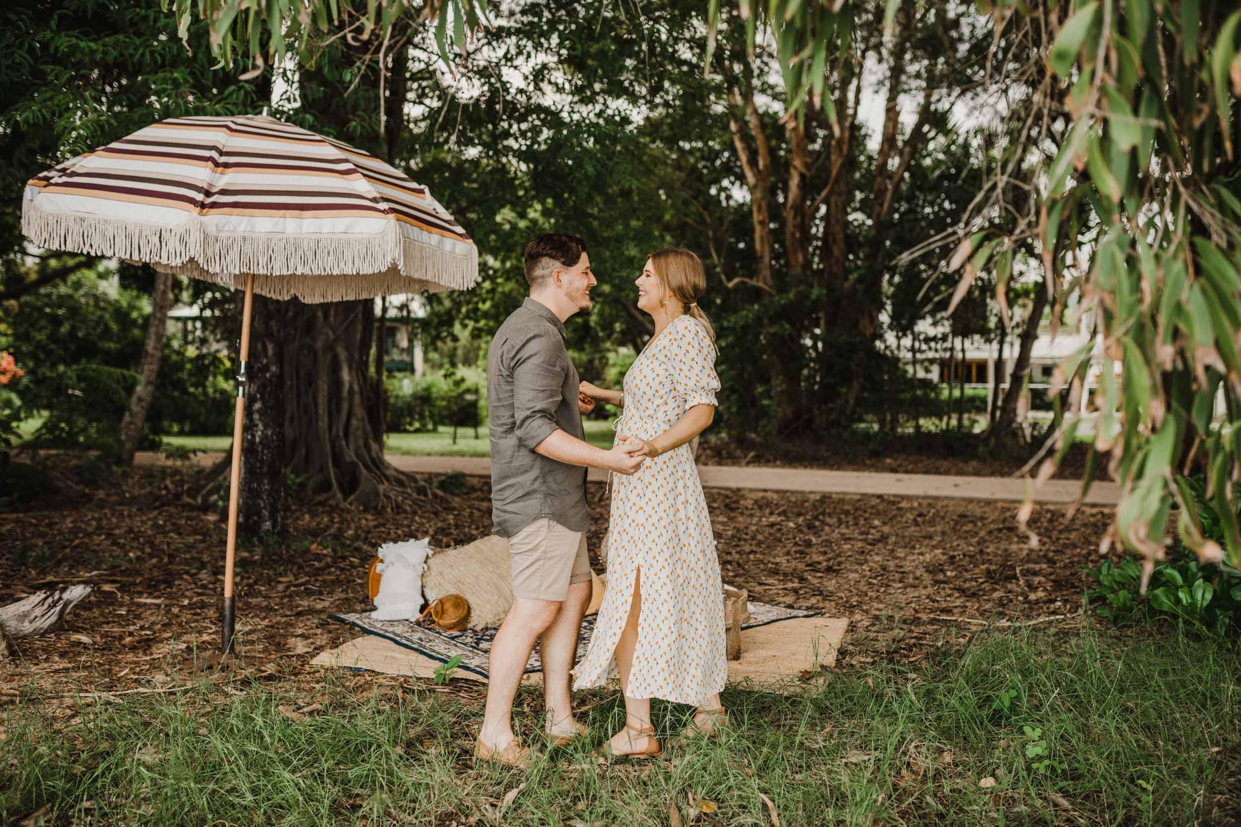 The Raw Photographer - Cairns Wedding Photographer - Beach Engagement Shoot - Candid Picnic-14.jpg