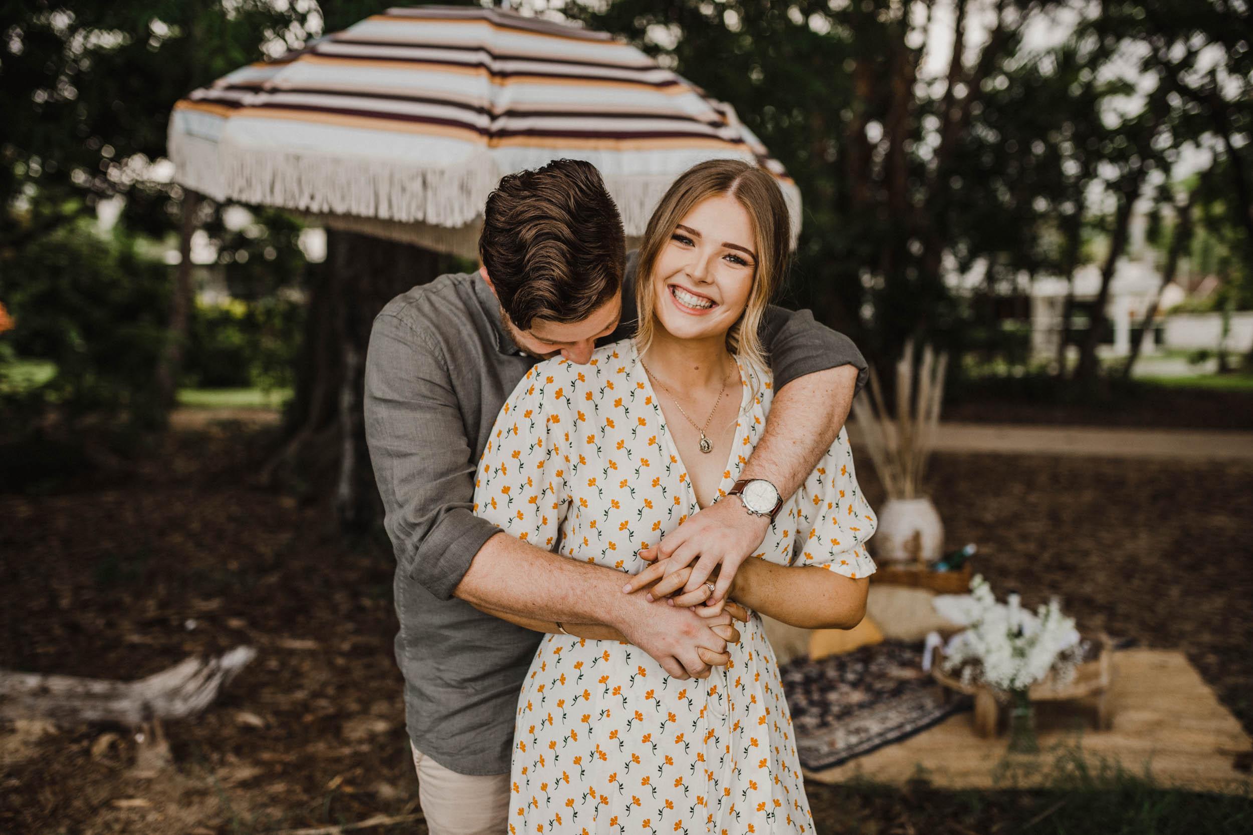 The Raw Photographer - Cairns Wedding Photographer - Beach Engagement Shoot - Candid Picnic-15.jpg