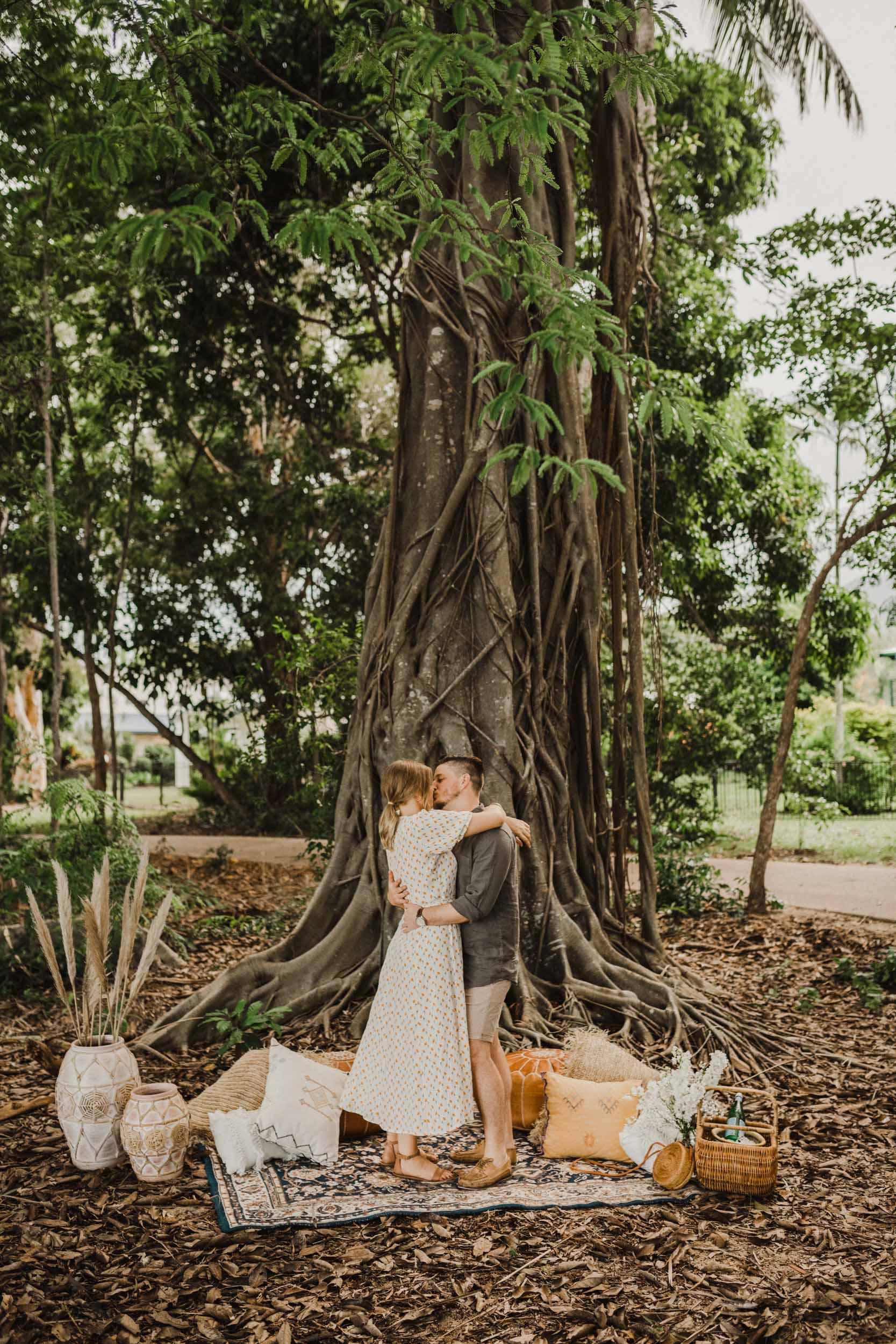 The Raw Photographer - Cairns Wedding Photographer - Beach Engagement Shoot - Candid Picnic-21.jpg