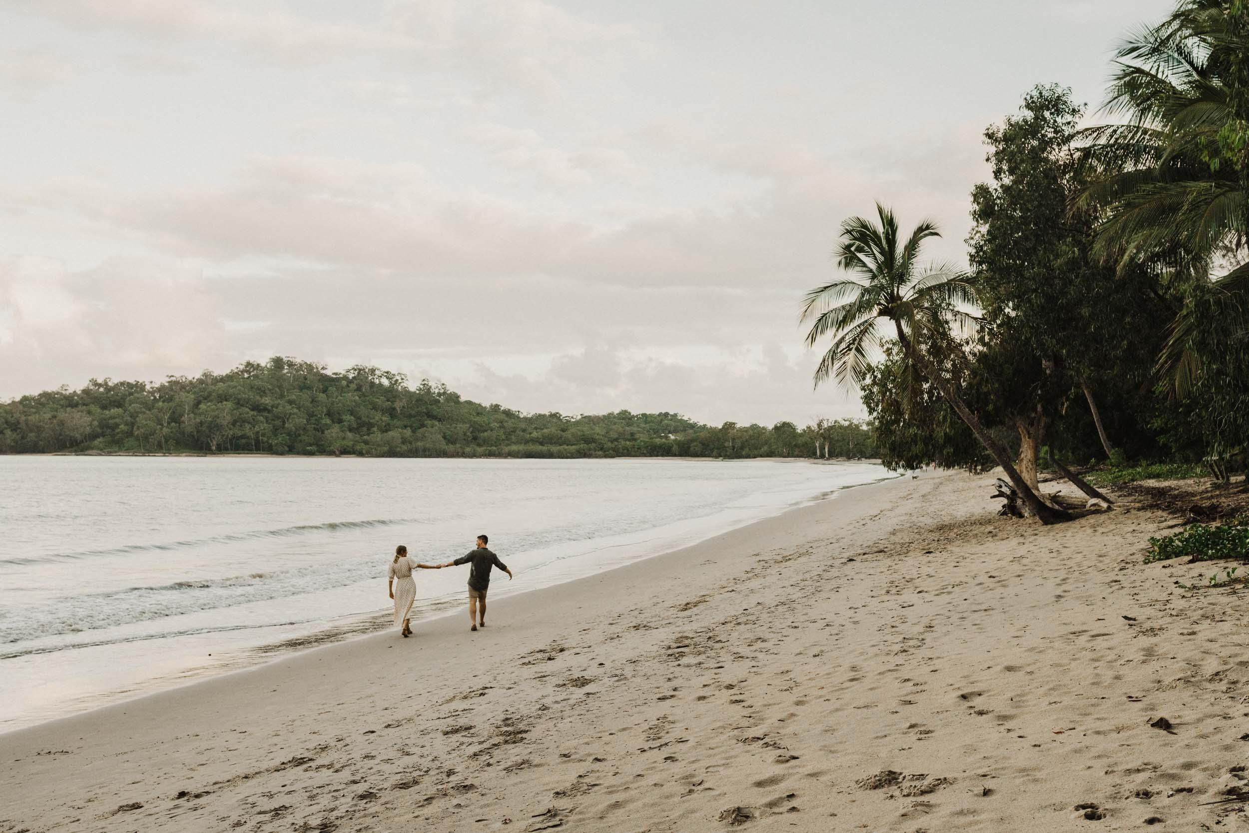 The Raw Photographer - Cairns Wedding Photographer - Beach Engagement Shoot - Candid Picnic-24.jpg