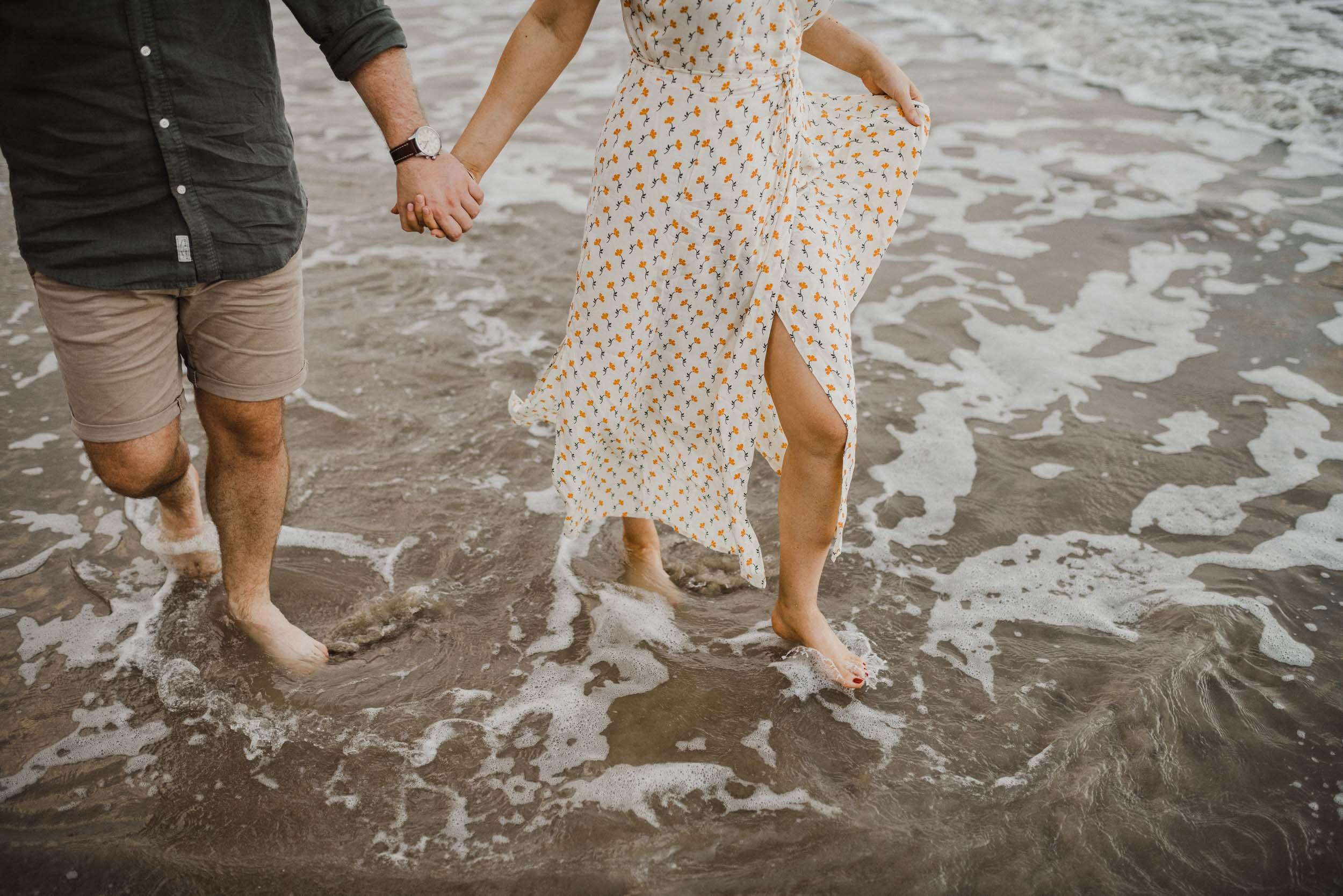 The Raw Photographer - Cairns Wedding Photographer - Beach Engagement Shoot - Candid Picnic-26.jpg