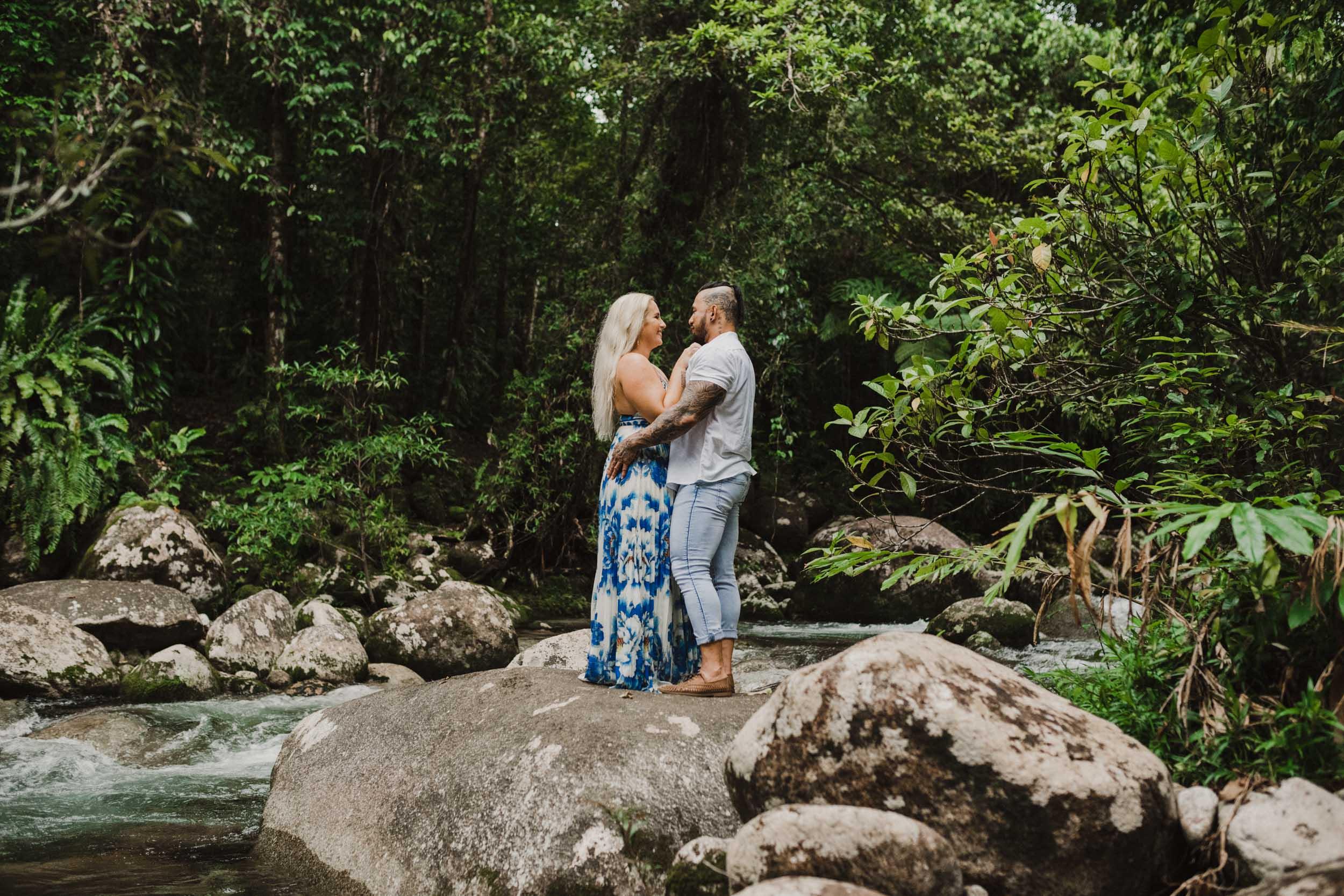 The Raw Photographer - Cairns Wedding Photographer - Rainforest engagement shoot location - Queensland Photography - candid nature-2.jpg
