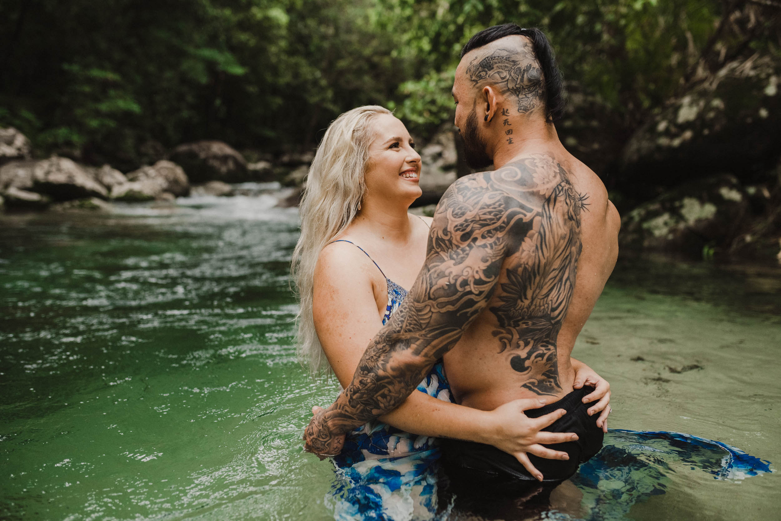 The Raw Photographer - Cairns Wedding Photographer - Rainforest engagement shoot location - Queensland Photography - candid nature-8.jpg