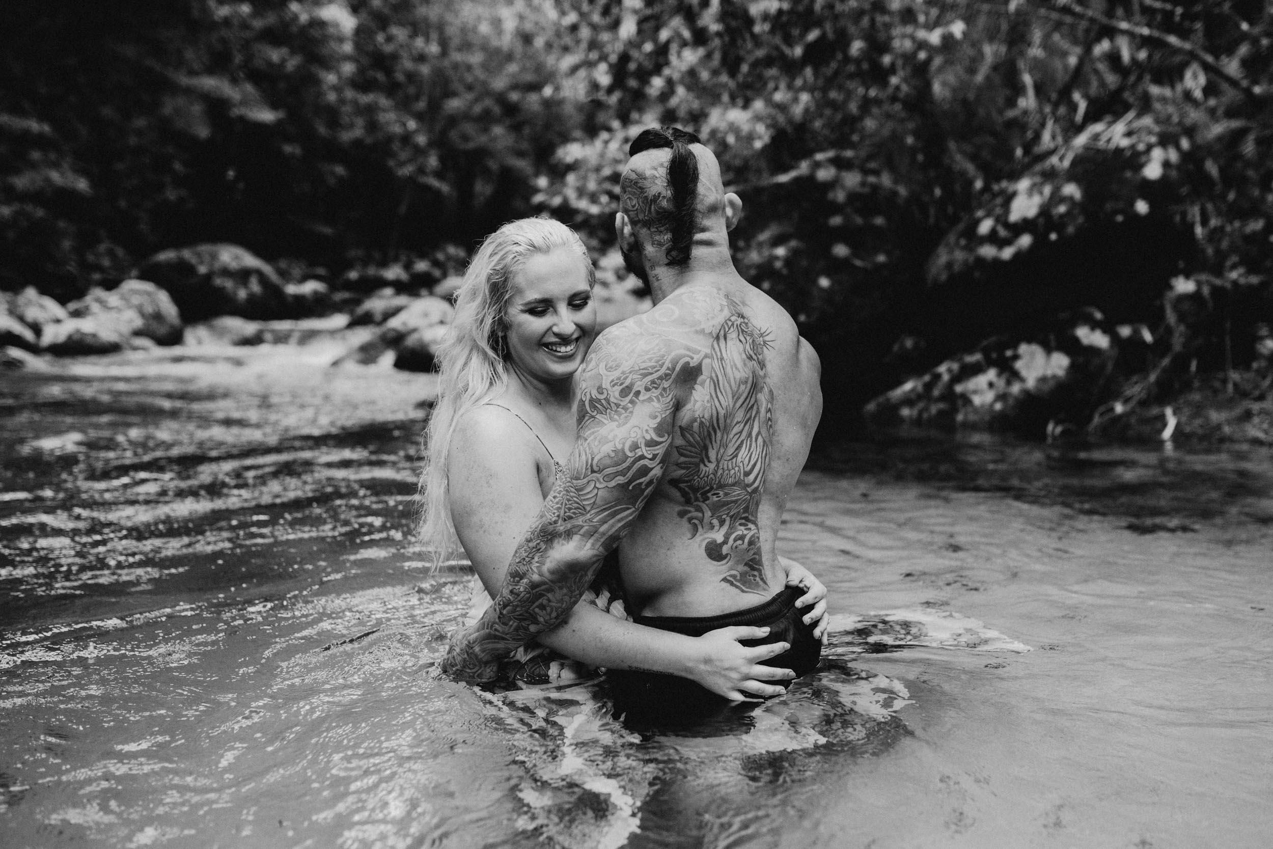 The Raw Photographer - Cairns Wedding Photographer - Rainforest engagement shoot location - Queensland Photography - candid nature-9.jpg