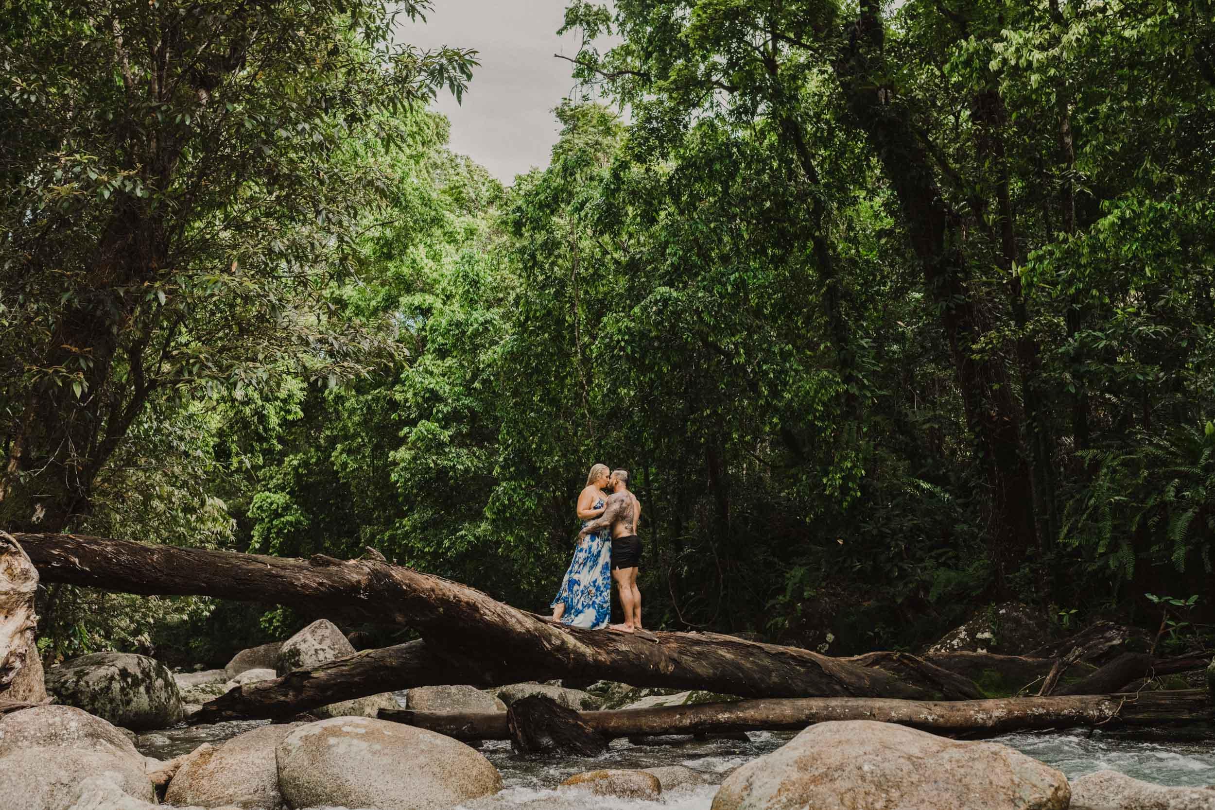 The Raw Photographer - Cairns Wedding Photographer - Rainforest engagement shoot location - Queensland Photography - candid nature-16.jpg