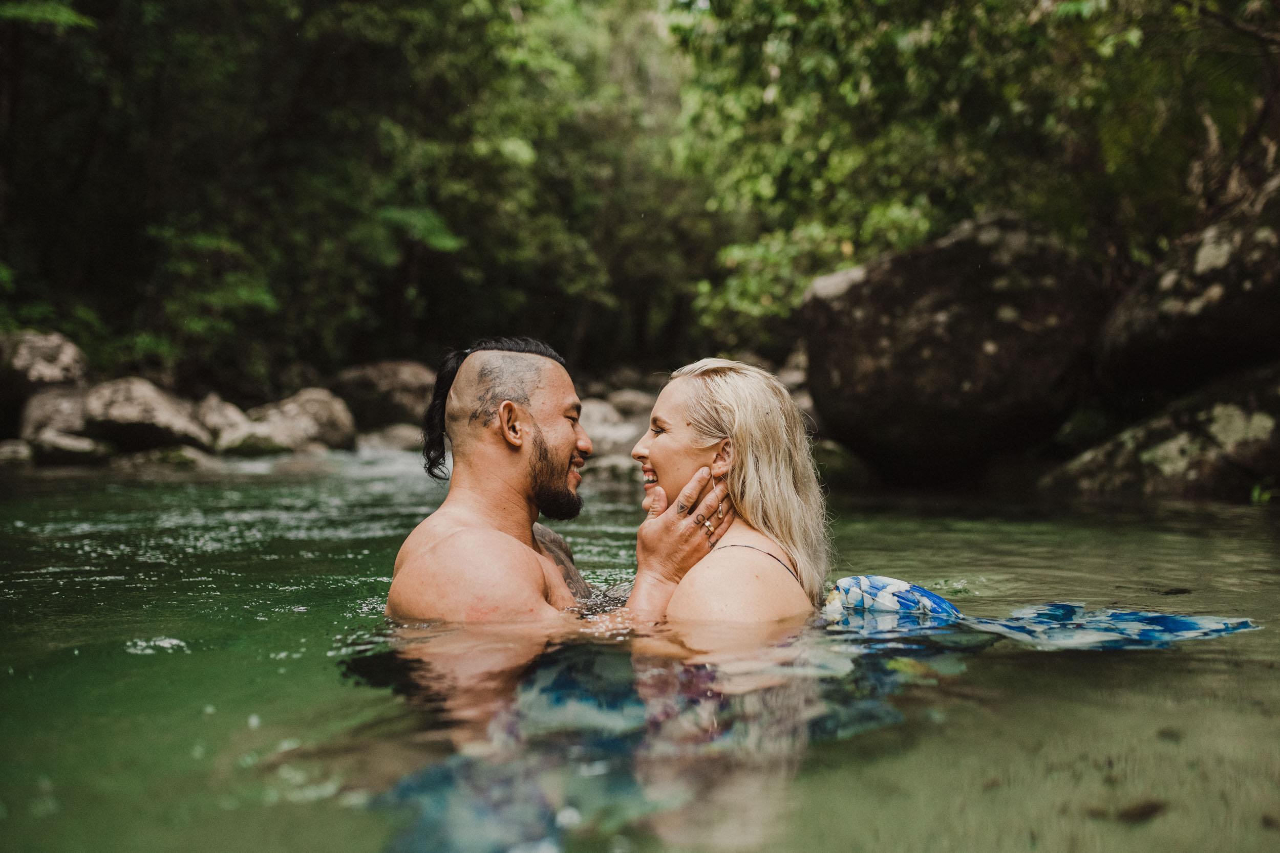 The Raw Photographer - Cairns Wedding Photographer - Rainforest engagement shoot location - Queensland Photography - candid nature-17.jpg