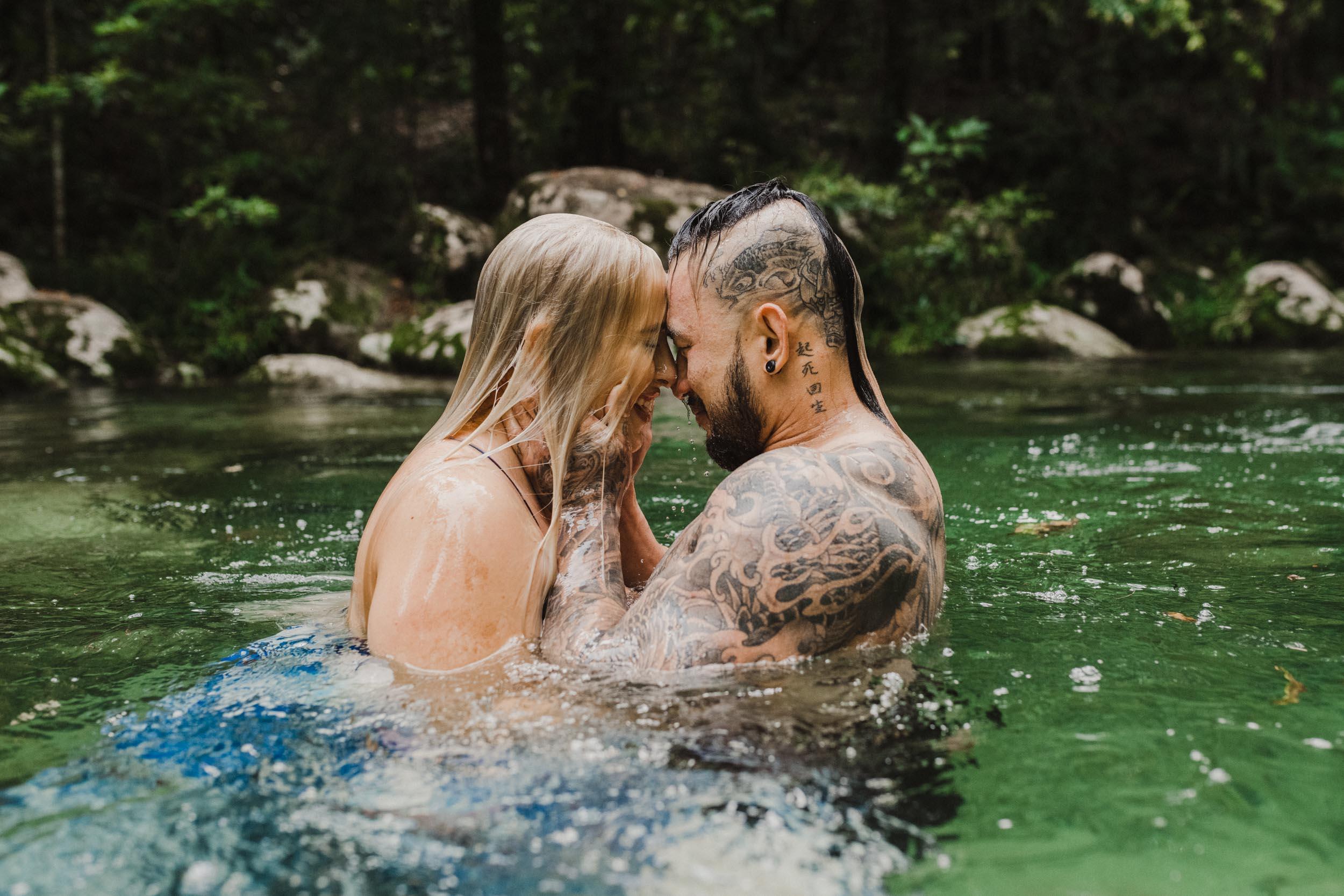 The Raw Photographer - Cairns Wedding Photographer - Rainforest engagement shoot location - Queensland Photography - candid nature-18.jpg
