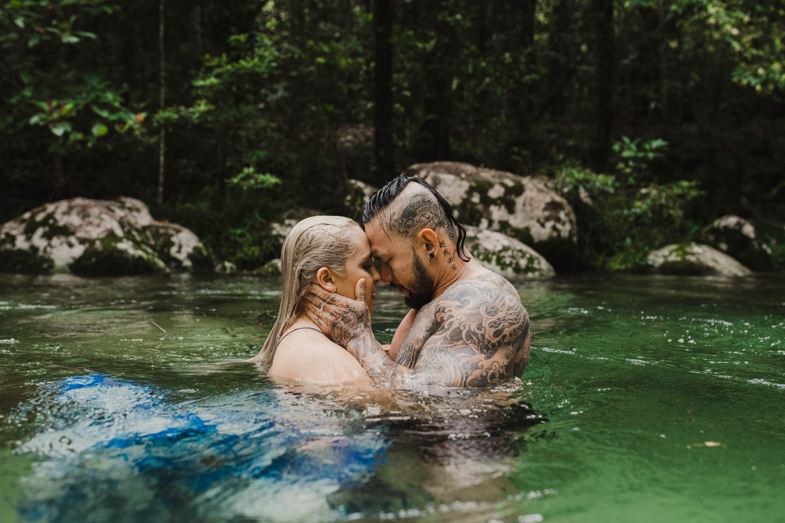 The Raw Photographer - Cairns Wedding Photographer - Rainforest engagement shoot location - Queensland Photography - candid nature-19.jpg