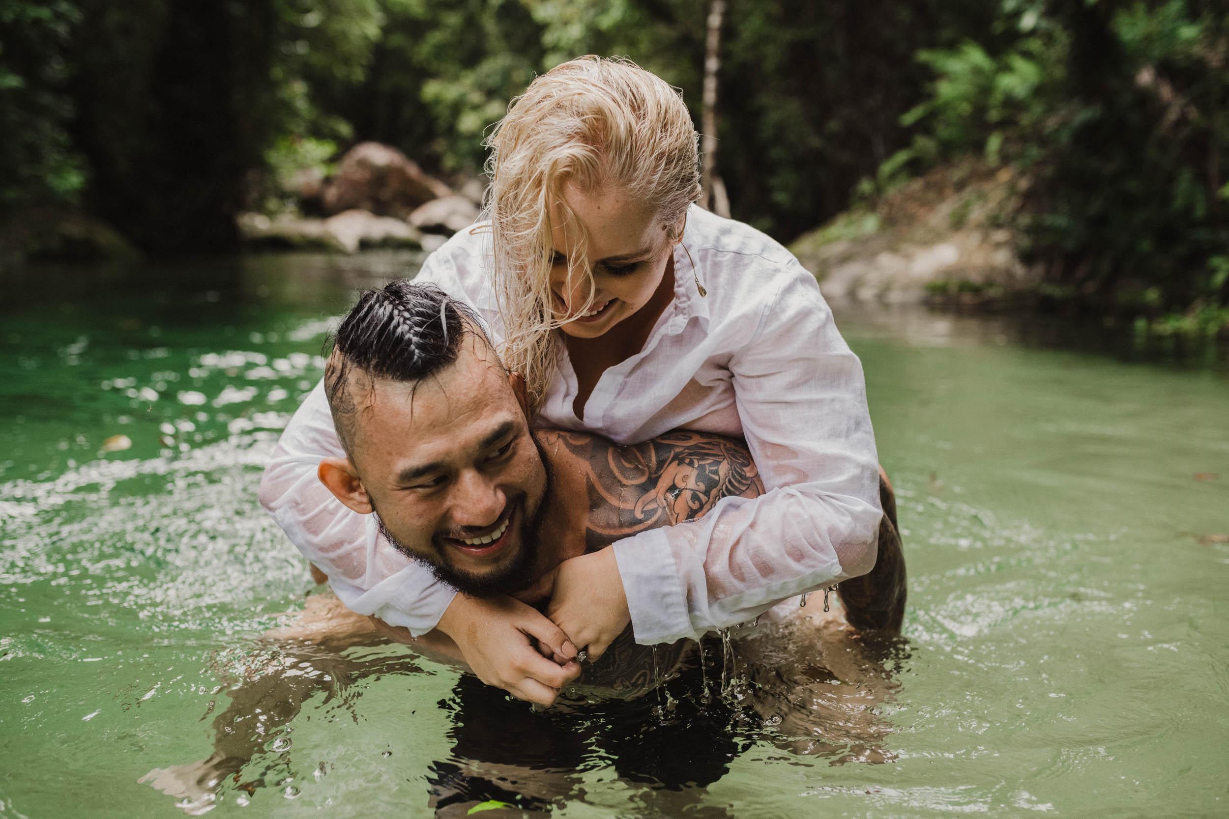 The Raw Photographer - Cairns Wedding Photographer - Rainforest engagement shoot location - Queensland Photography - candid nature-21.jpg