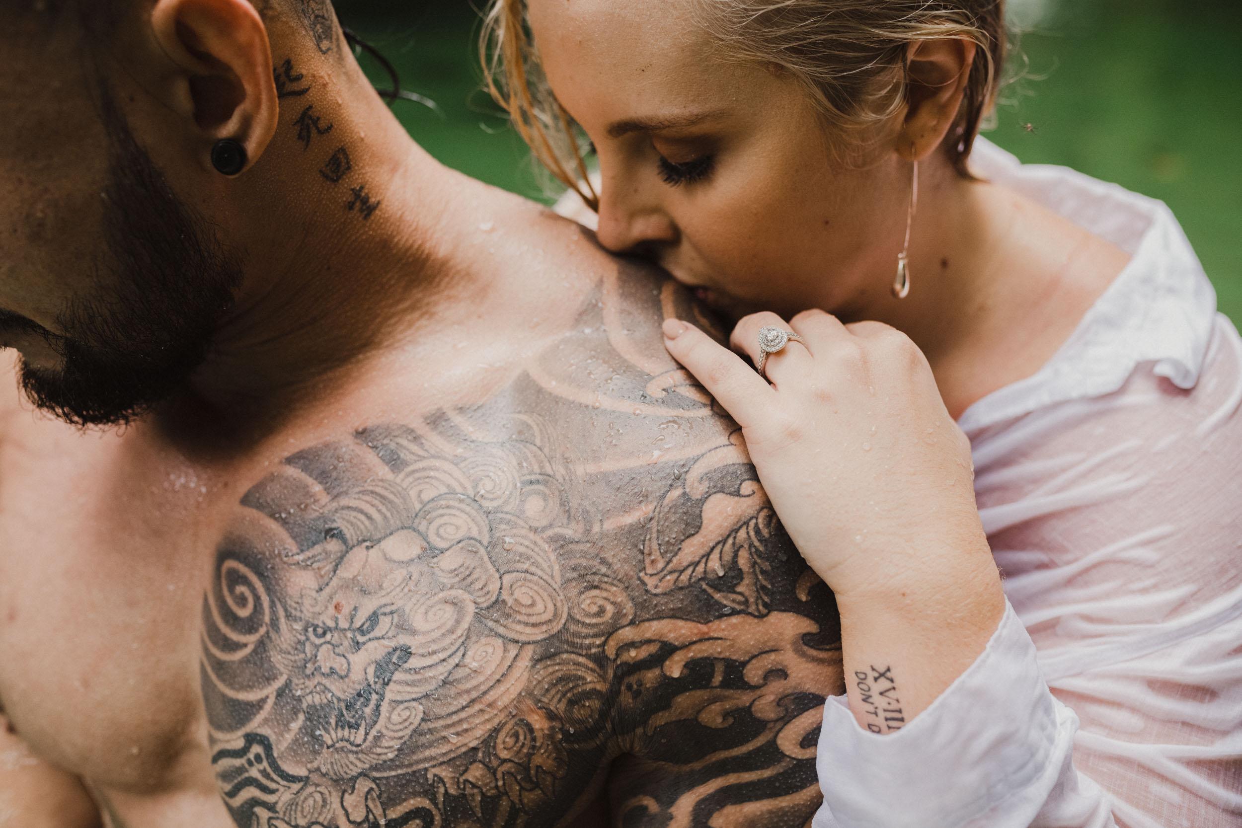 The Raw Photographer - Cairns Wedding Photographer - Rainforest engagement shoot location - Queensland Photography - candid nature-25.jpg