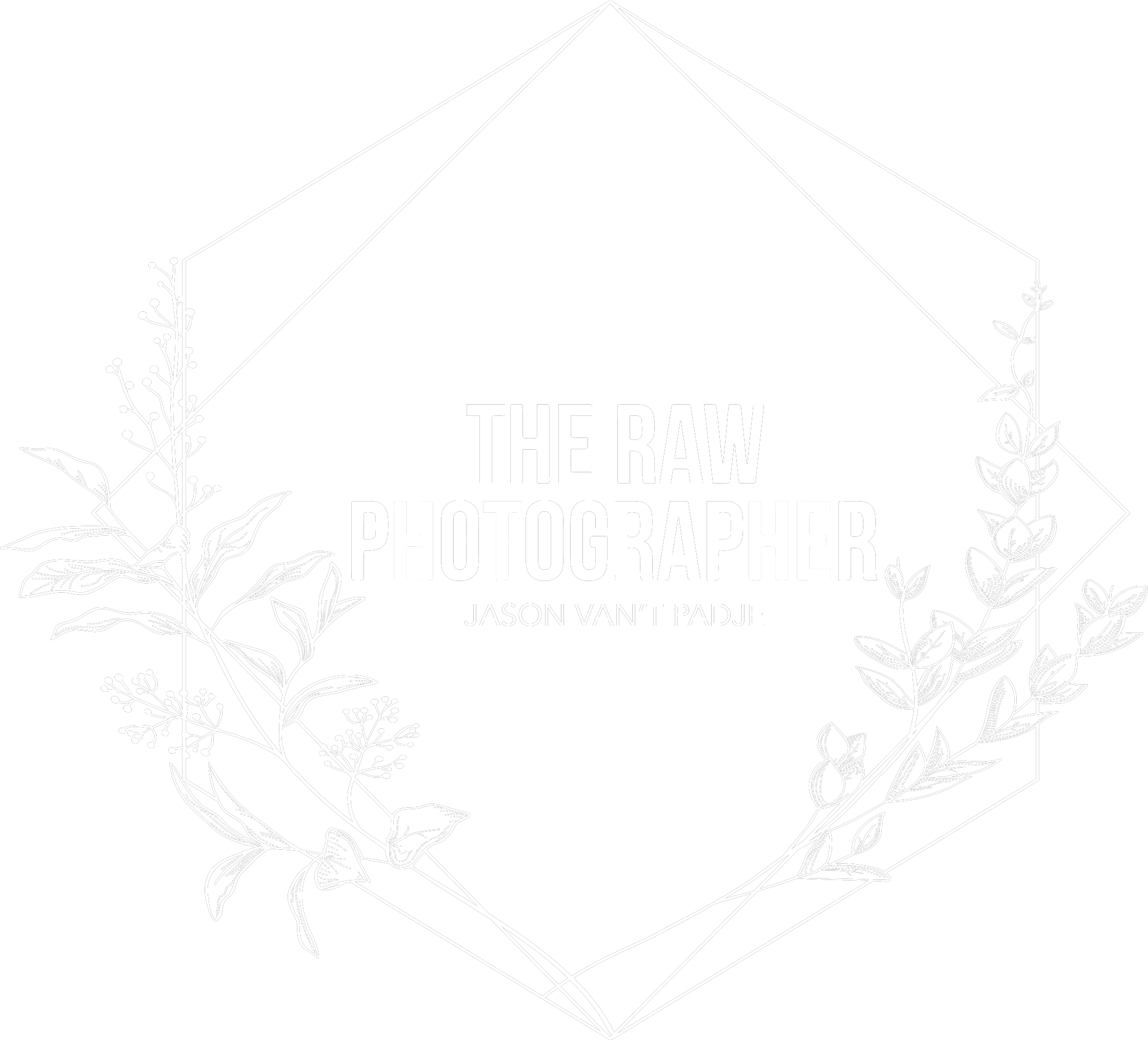 WHITE EMBLEM - The Raw Photographer