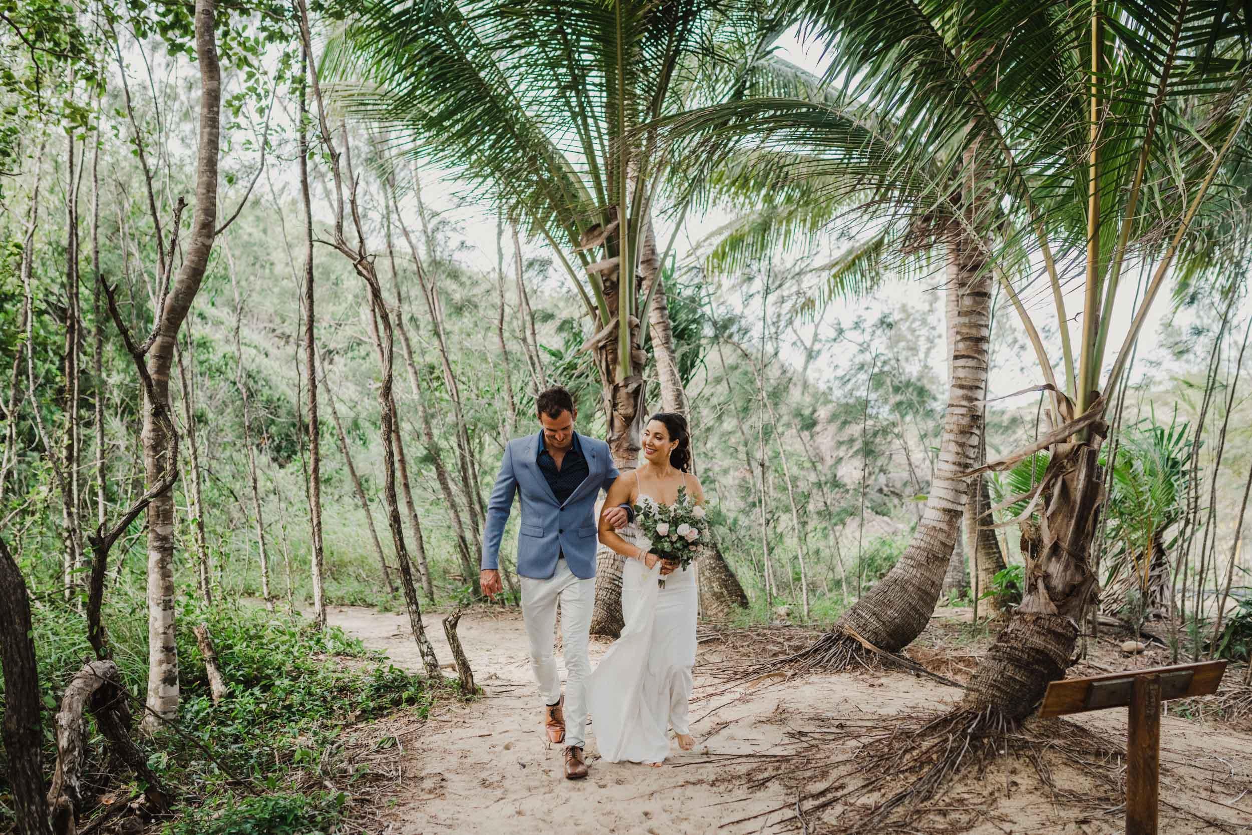 The Raw Photographer - Cairns Wedding Photographer - Thala Beach - Port Douglas Beach Elopement -  Made with love Bridal Dress-5.jpg