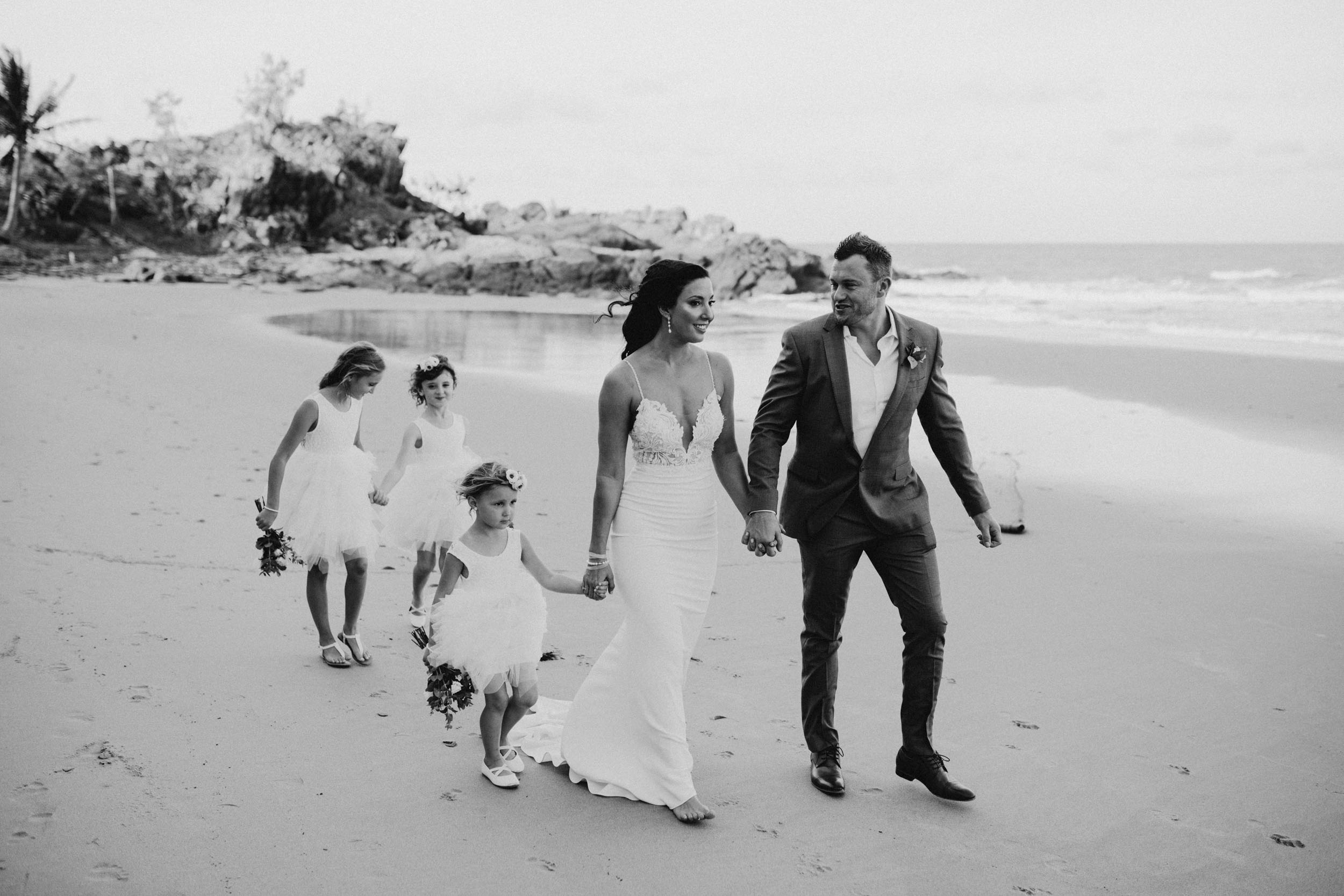 The Raw Photographer - Cairns Wedding Photographer - Thala Beach - Port Douglas Beach Elopement -  Made with love Bridal Dress-25.jpg