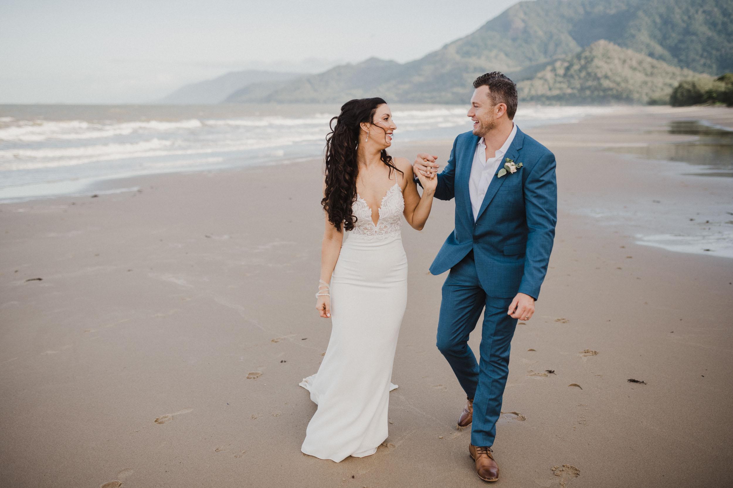 The Raw Photographer - Cairns Wedding Photographer - Thala Beach - Port Douglas Beach Elopement -  Made with love Bridal Dress-29.jpg