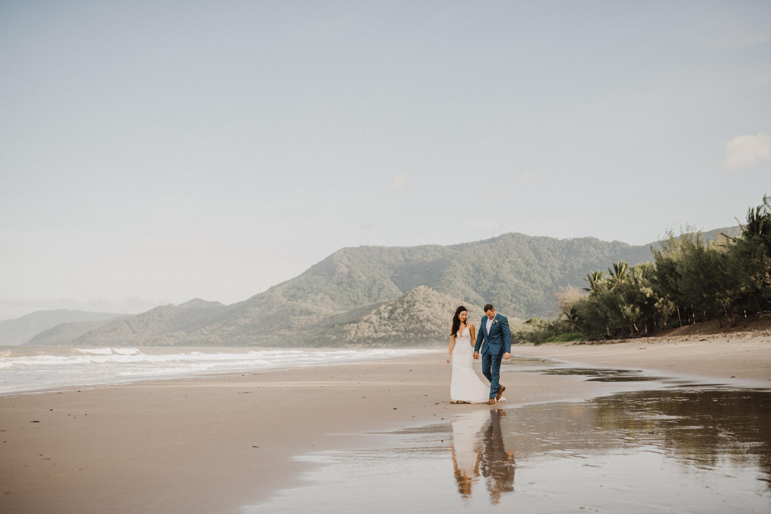 The Raw Photographer - Cairns Wedding Photographer - Thala Beach - Port Douglas Beach Elopement -  Made with love Bridal Dress-30.jpg