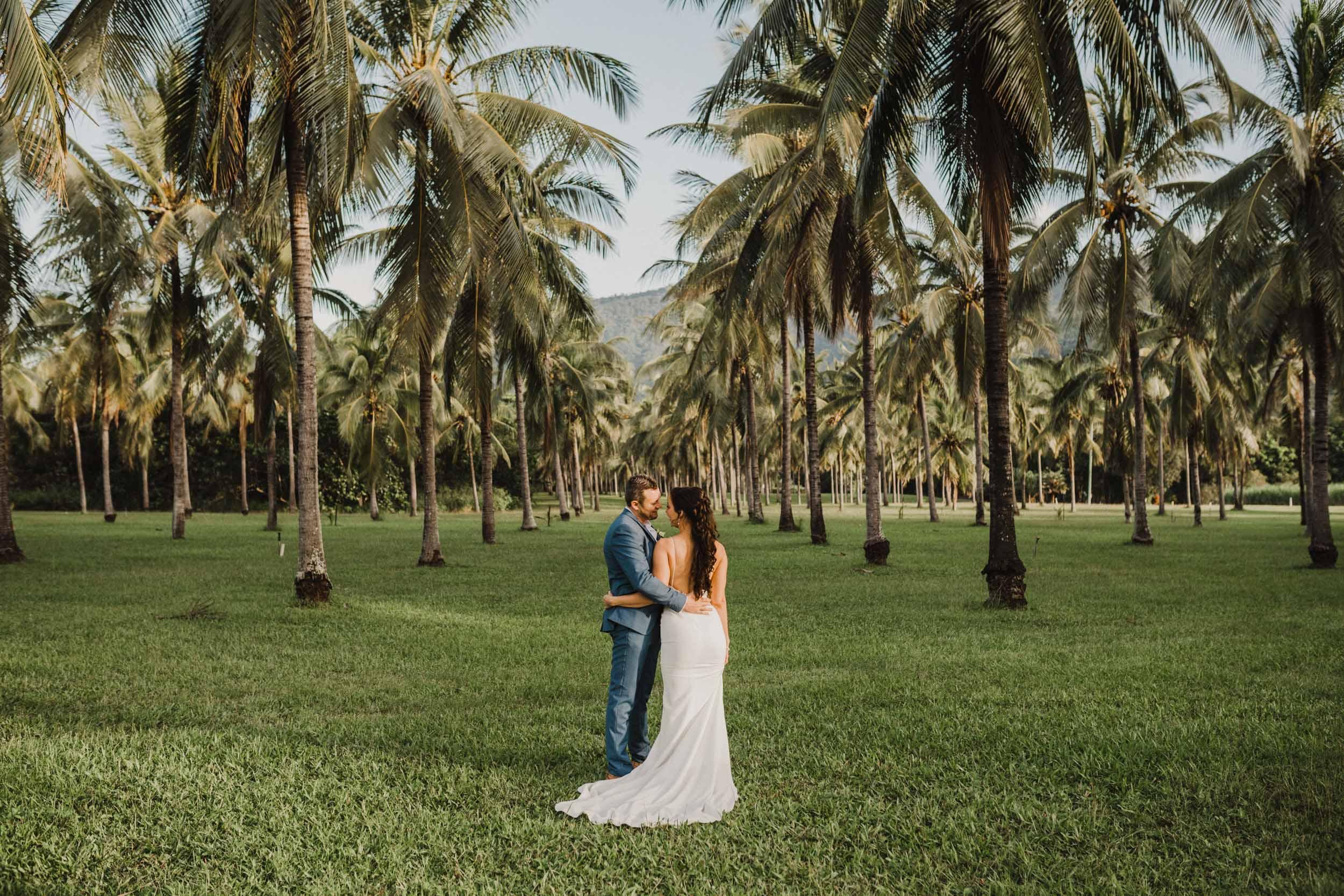 The Raw Photographer - Cairns Wedding Photographer - Thala Beach - Port Douglas Beach Elopement -  Made with love Bridal Dress-34.jpg