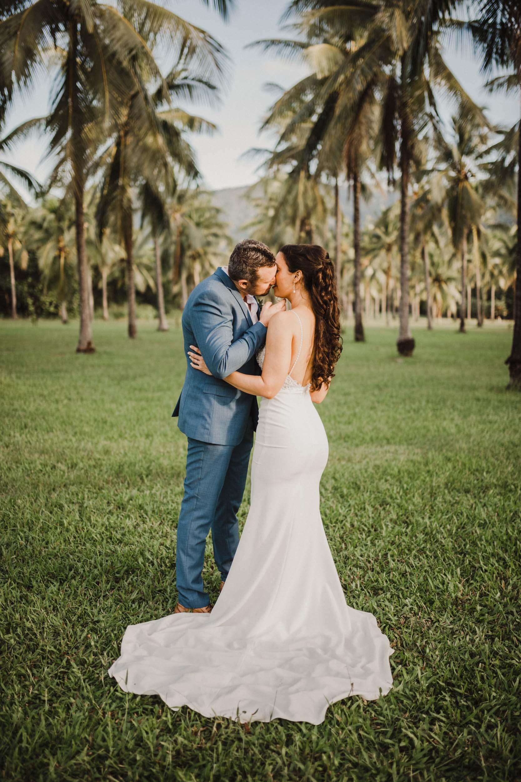 The Raw Photographer - Cairns Wedding Photographer - Thala Beach - Port Douglas Beach Elopement -  Made with love Bridal Dress-36.jpg