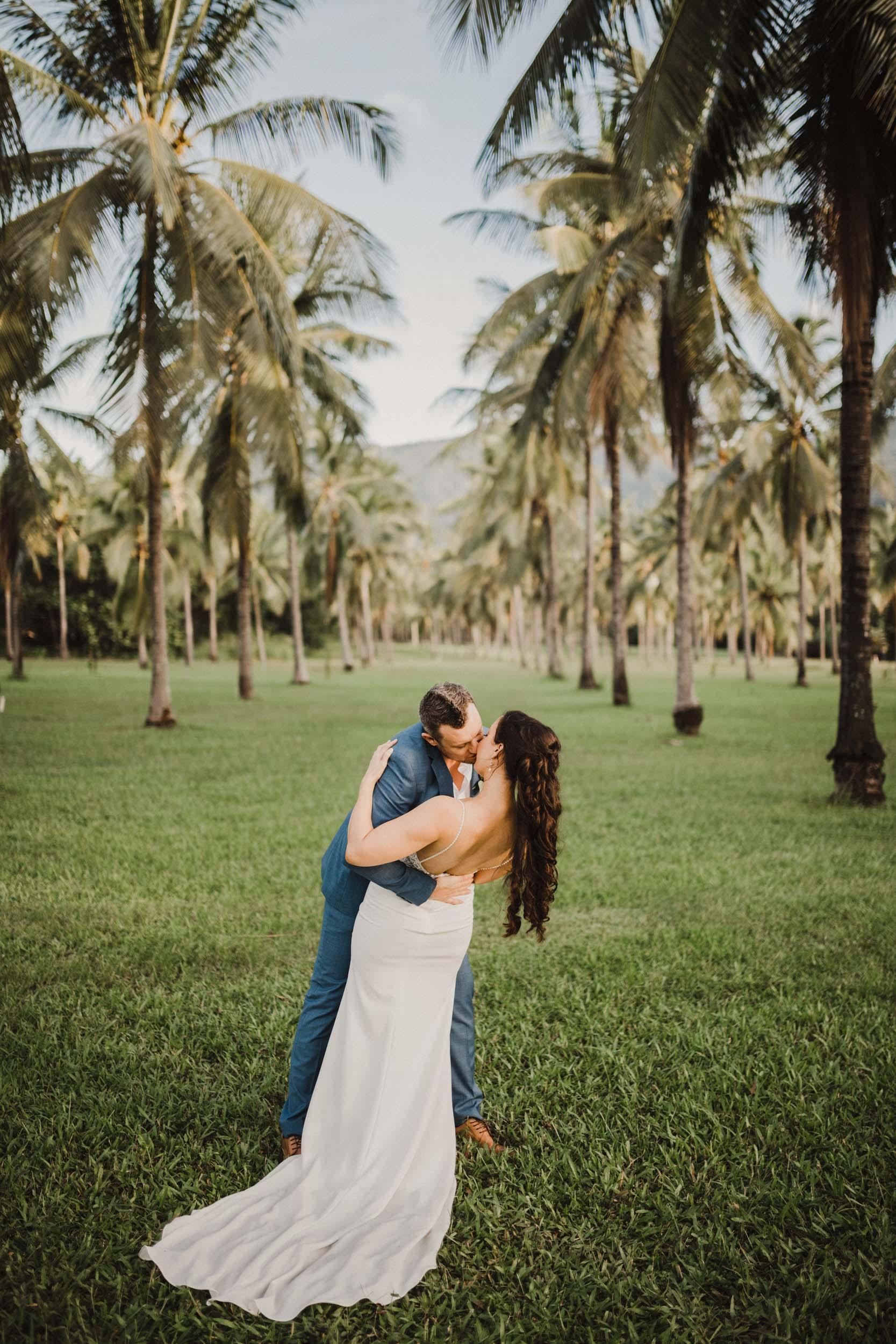 The Raw Photographer - Cairns Wedding Photographer - Thala Beach - Port Douglas Beach Elopement -  Made with love Bridal Dress-37.jpg