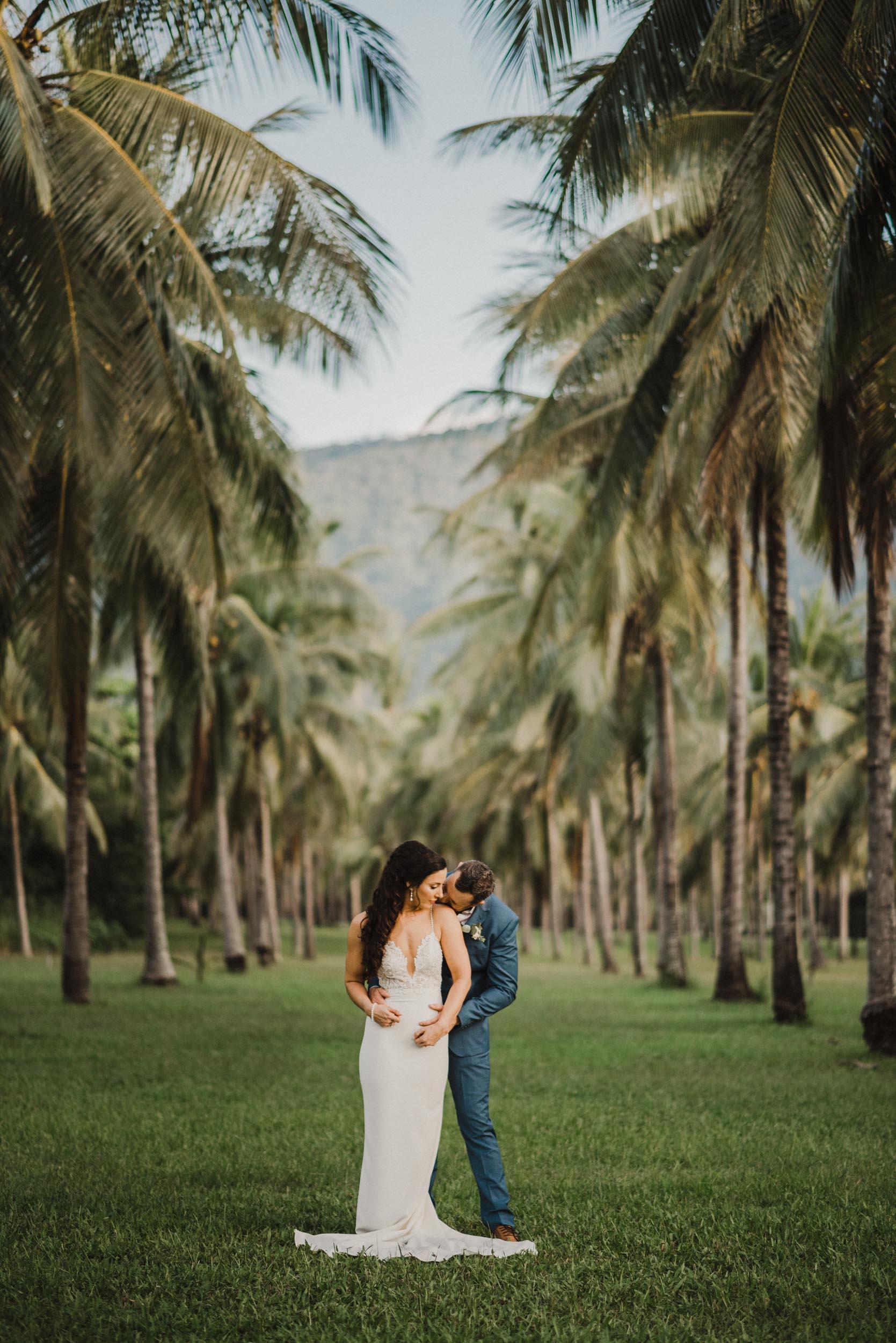 The Raw Photographer - Cairns Wedding Photographer - Thala Beach - Port Douglas Beach Elopement -  Made with love Bridal Dress-39.jpg