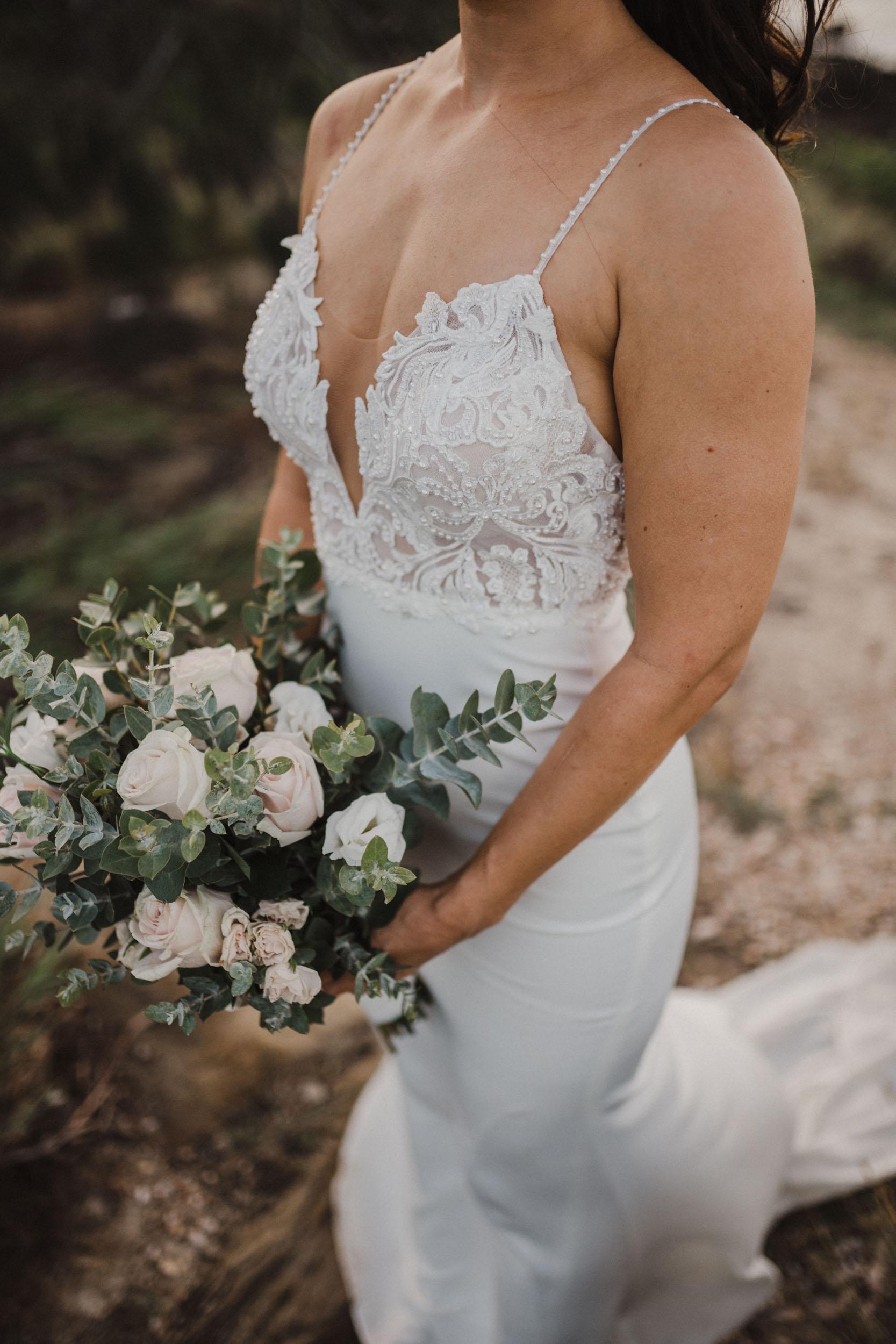 The Raw Photographer - Cairns Wedding Photographer - Thala Beach - Port Douglas Beach Elopement -  Made with love Bridal Dress-42.jpg